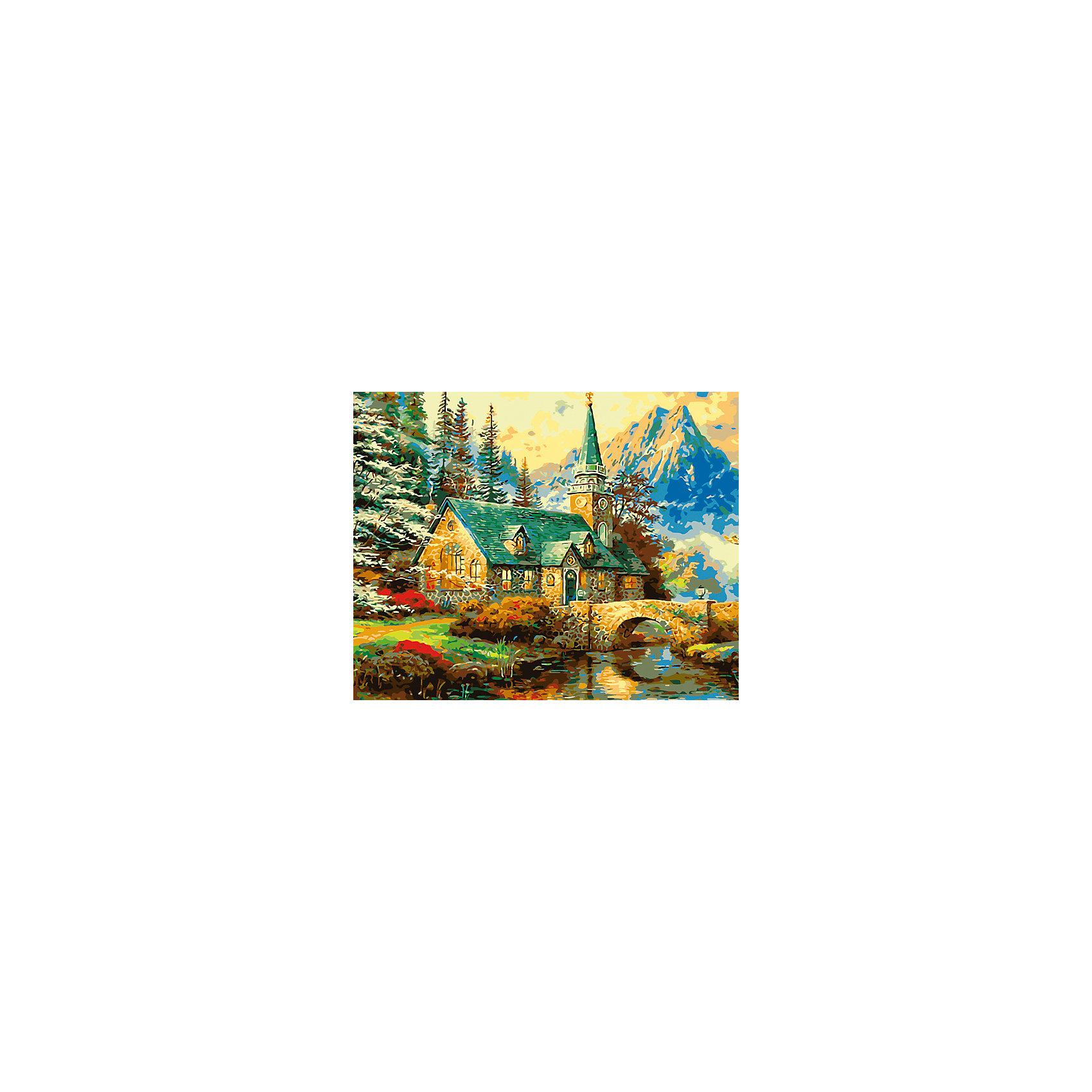 Холст с красками по номерам Усадьба в горах 40х50 смРаскраски по номерам<br>замечательные наборы для создания уникального шедевра изобразительного искусства. Создание картин на специально подготовленной рабочей поверхности – это уникальная техника, позволяющая делать Ваши шедевры более яркими и реалистичными. Просто нанесите мазки на уже готовый эскиз и оживите картину! Готовые изделия могут стать украшением интерьера или прекрасным подарком близким и друзьям.<br><br>Ширина мм: 510<br>Глубина мм: 410<br>Высота мм: 25<br>Вес г: 900<br>Возраст от месяцев: 36<br>Возраст до месяцев: 108<br>Пол: Унисекс<br>Возраст: Детский<br>SKU: 5096789