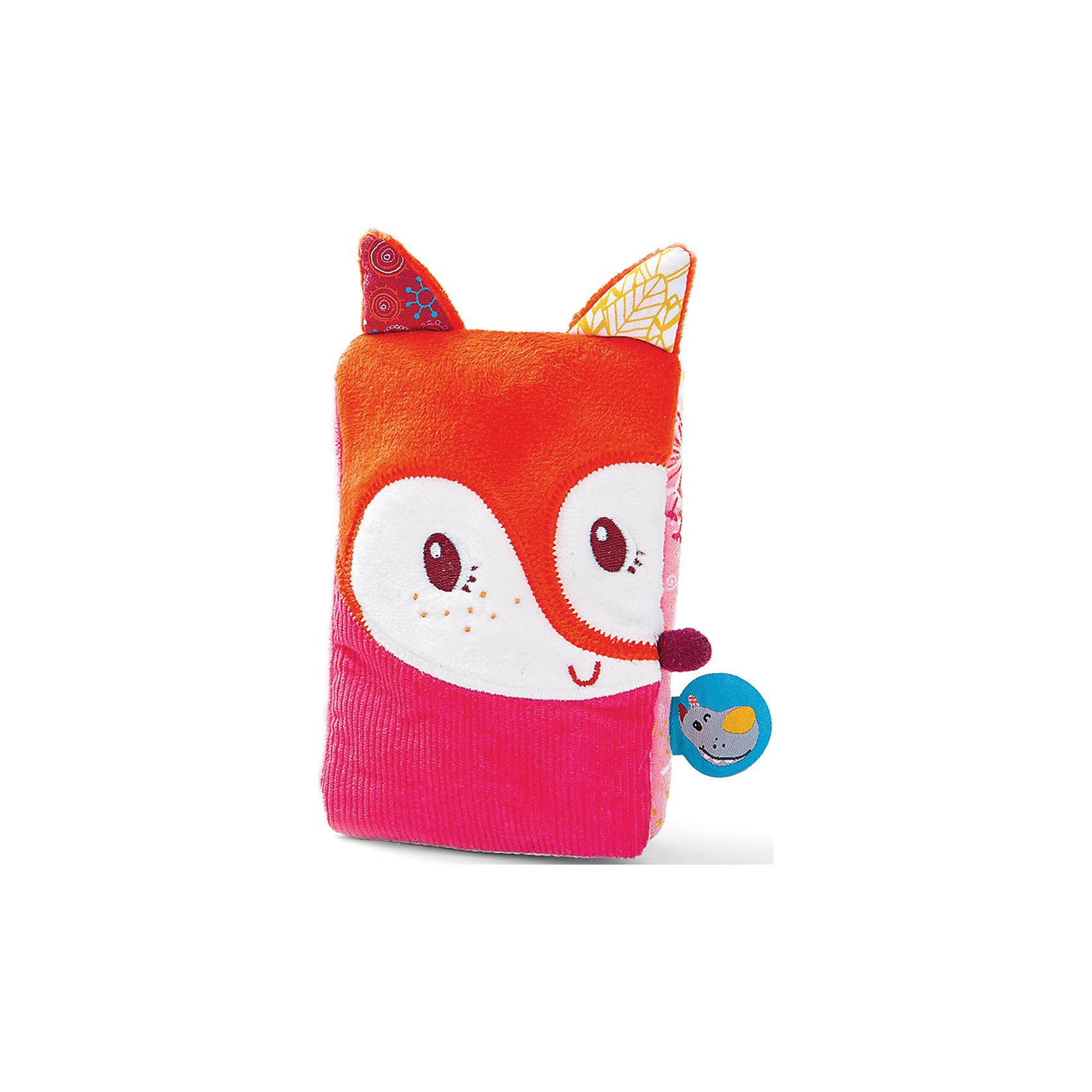 Liliputiens Смартфон Лиса Алиса: мягкая интерактивная игрушка, Lilliputiens игрушка смартфон