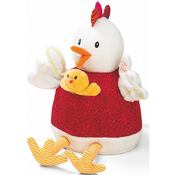 Курочка Офелия и её цыплята , LilliputiensМягкие игрушки животные<br>Характеристики товара:<br><br>- цвет: разноцветный;<br>- материал: текстиль, пластик; <br>- габариты: 29х22х20см;<br>- вес: 510 г;<br>- количество предметов: 6 штук;<br>- возраст: 3+.<br><br>Познакомить ребенка с искусством театра можно, разыграв перед ним сказу «Курочка Офелия и её цыплята» в кукольном варианте. В набор входят 5 пальчиковых игрушек – цыплят и главная марионетка - курочка, с которыми кукольный театр станет доступным прямо у себя дома. Покажите ребенку оригинальный вариант сказки или придумайте свой альтернативный финал! Материалы, использованные при изготовлении изделия, абсолютно безопасны и полностью отвечают международным требованиям по качеству детских товаров.<br><br>Игрушку Курочка Офелия и её цыплята от бренда Liliputiens можно купить в нашем интернет-магазине.<br><br>Ширина мм: 29<br>Глубина мм: 22<br>Высота мм: 20<br>Вес г: 510<br>Возраст от месяцев: 6<br>Возраст до месяцев: 2147483647<br>Пол: Женский<br>Возраст: Детский<br>SKU: 5097371