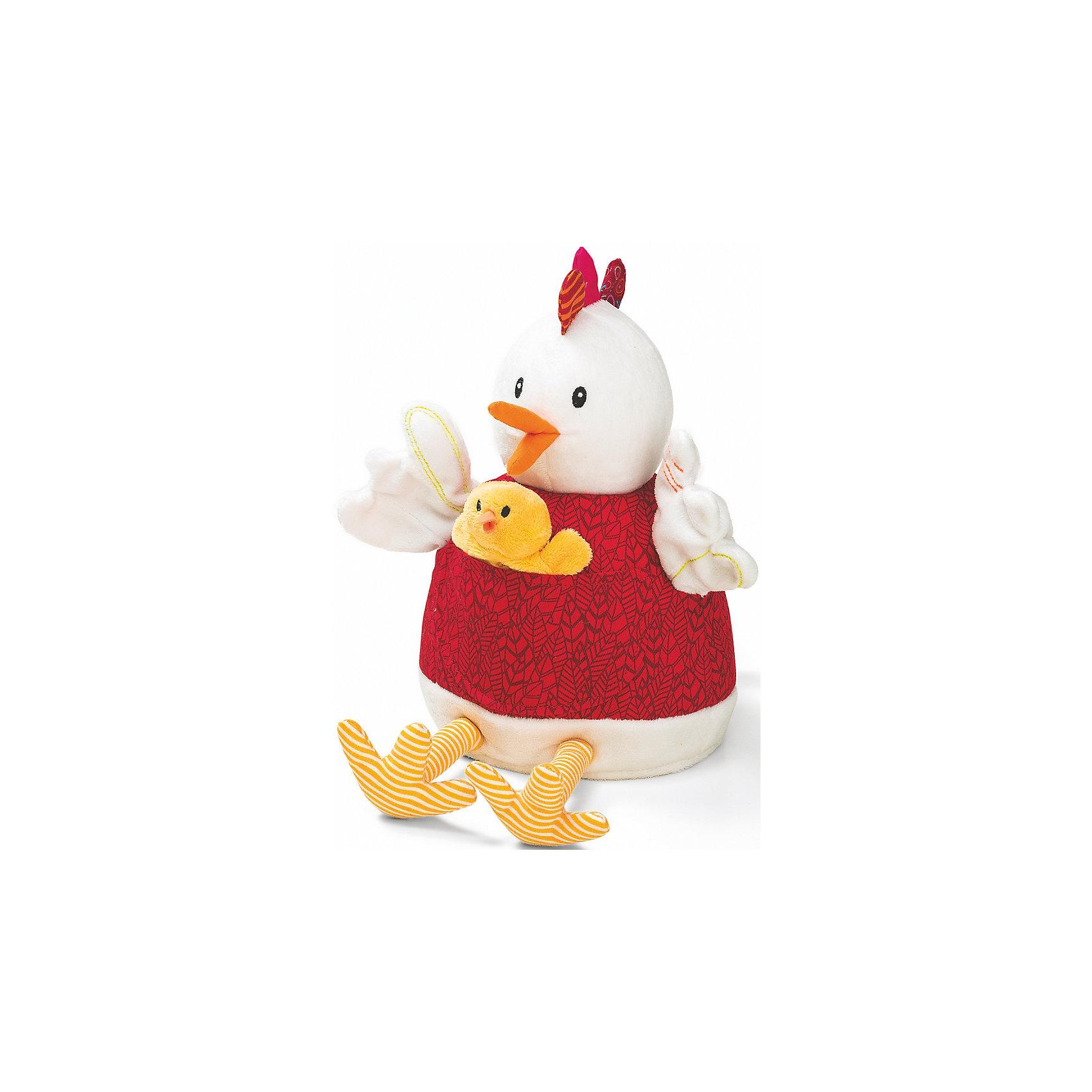 Курочка Офелия и её цыплята , LilliputiensХарактеристики товара:<br><br>- цвет: разноцветный;<br>- материал: текстиль, пластик; <br>- габариты: 29х22х20см;<br>- вес: 510 г;<br>- количество предметов: 6 штук;<br>- возраст: 3+.<br><br>Познакомить ребенка с искусством театра можно, разыграв перед ним сказу «Курочка Офелия и её цыплята» в кукольном варианте. В набор входят 5 пальчиковых игрушек – цыплят и главная марионетка - курочка, с которыми кукольный театр станет доступным прямо у себя дома. Покажите ребенку оригинальный вариант сказки или придумайте свой альтернативный финал! Материалы, использованные при изготовлении изделия, абсолютно безопасны и полностью отвечают международным требованиям по качеству детских товаров.<br><br>Игрушку Курочка Офелия и её цыплята от бренда Liliputiens можно купить в нашем интернет-магазине.<br><br>Ширина мм: 29<br>Глубина мм: 22<br>Высота мм: 20<br>Вес г: 510<br>Возраст от месяцев: 6<br>Возраст до месяцев: 2147483647<br>Пол: Женский<br>Возраст: Детский<br>SKU: 5097371