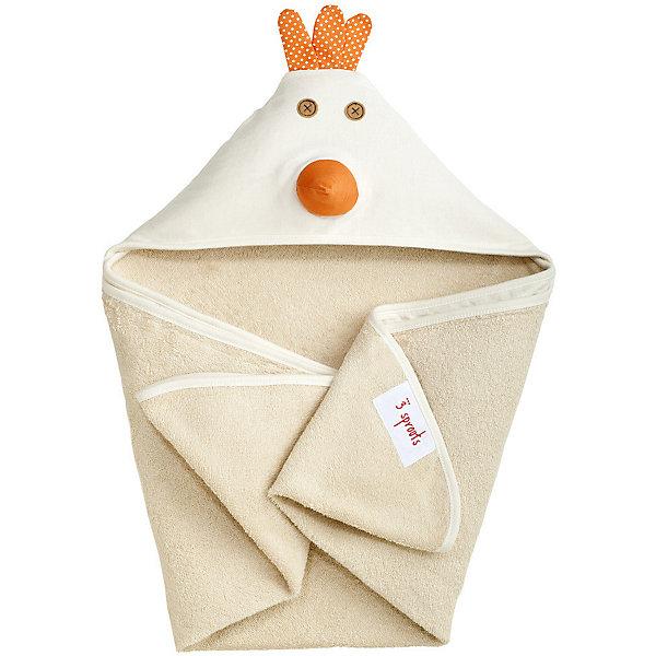 Полотенце с капюшоном Цыплёнок (Cream Chicken), 3 SproutsПляжные полотенца<br>Милое полотенце для маленькой крохи. Махровое изнутри, а внешний слой изготовлен из 100% хлопка. <br><br>Дополнительная информация:<br><br>- Размер полотенца: 76х76 см.<br>- Материал: 100% хлопок снаружи, махровая ткань изнутри.<br>- Уход: деликатная стирка в холодной воде.<br><br>Купить полотенце с капюшоном Цыпленок (Cream Chicken), можно в нашем магазине.<br><br>Ширина мм: 260<br>Глубина мм: 20<br>Высота мм: 330<br>Вес г: 402<br>Возраст от месяцев: 0<br>Возраст до месяцев: 18<br>Пол: Унисекс<br>Возраст: Детский<br>SKU: 5098197