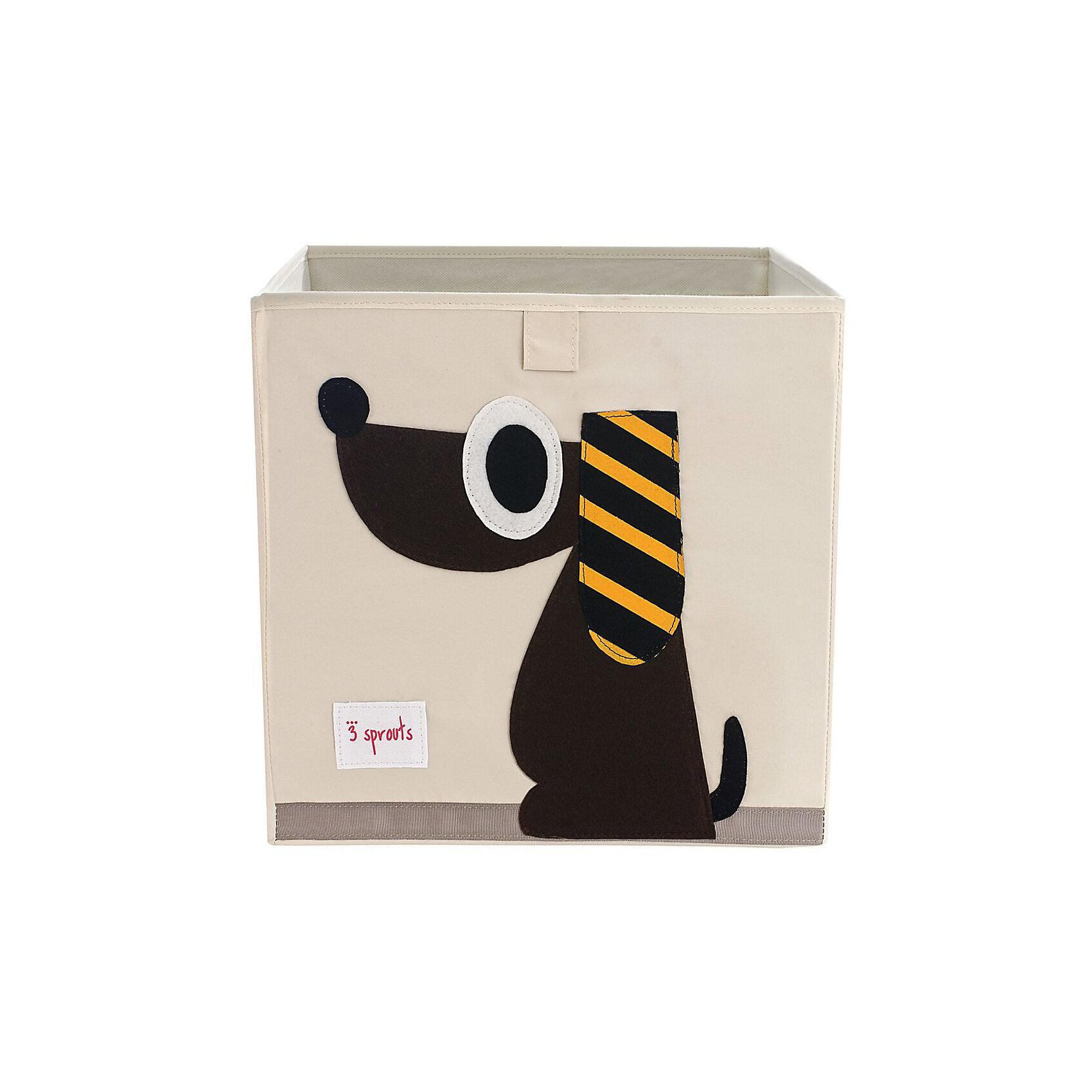 Коробка для хранения Собачка (Brown Dog), 3 SproutsКрасивая коробка - это не только место для хранения вещей, но и прекрасный декор любой комнаты.<br><br>Дополнительная информация:<br><br>- Размер: 33x33x33 см.<br>- Материал: полиэстер.<br>- Орнамент: Собачка.<br><br>Купить коробку для хранения Собачка (Brown Dog), можно в нашем магазине.<br><br>Ширина мм: 330<br>Глубина мм: 20<br>Высота мм: 330<br>Вес г: 830<br>Возраст от месяцев: 6<br>Возраст до месяцев: 84<br>Пол: Унисекс<br>Возраст: Детский<br>SKU: 5098219