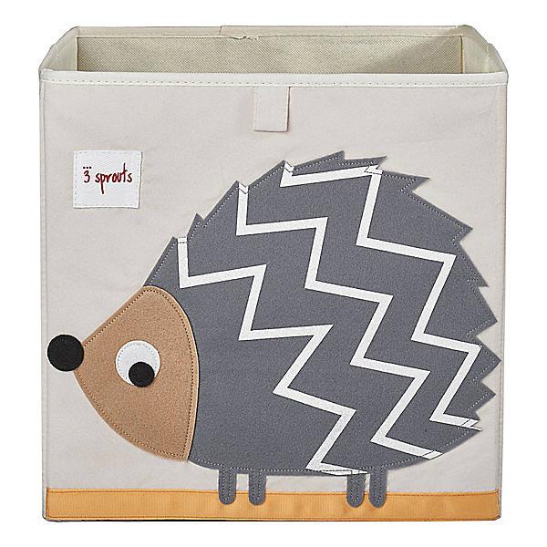 Коробка для хранения Ёжик (Grey HedgeHog SPR410), 3 SproutsЯщики для игрушек<br>Красивая коробка - это не только место для хранения вещей, но и прекрасный декор любой комнаты.<br><br>Дополнительная информация:<br><br>- Размер: 33x33x33 см.<br>- Материал: полиэстер.<br>- Орнамент: Ёжик.<br><br>Купить коробку для хранения Ёжик (Grey HedgeHog ), можно в нашем магазине.<br><br>Ширина мм: 330<br>Глубина мм: 20<br>Высота мм: 330<br>Вес г: 830<br>Возраст от месяцев: 6<br>Возраст до месяцев: 84<br>Пол: Унисекс<br>Возраст: Детский<br>SKU: 5098228