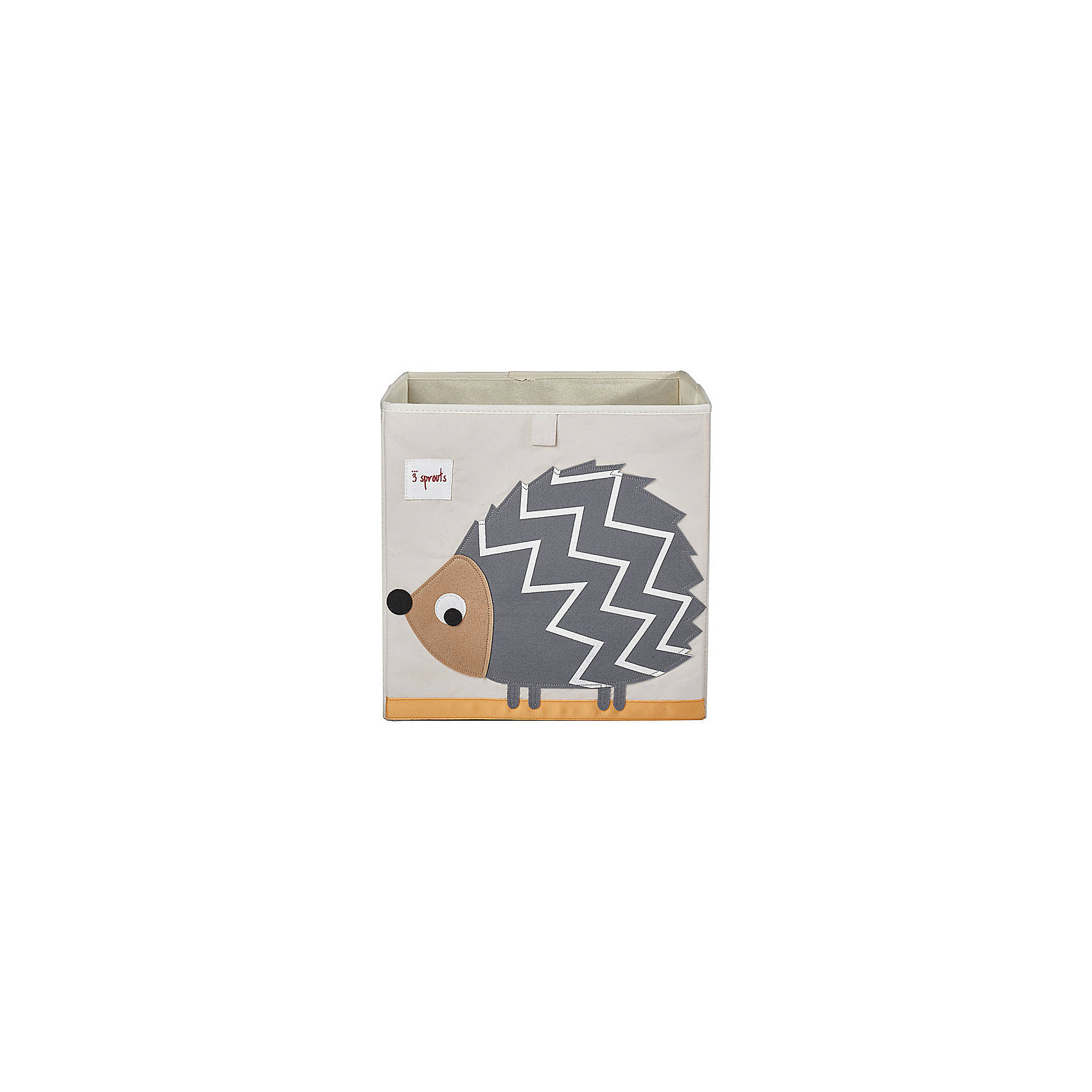 Коробка для хранения Ёжик (Grey HedgeHog SPR410), 3 SproutsКрасивая коробка - это не только место для хранения вещей, но и прекрасный декор любой комнаты.<br><br>Дополнительная информация:<br><br>- Размер: 33x33x33 см.<br>- Материал: полиэстер.<br>- Орнамент: Ёжик.<br><br>Купить коробку для хранения Ёжик (Grey HedgeHog ), можно в нашем магазине.<br><br>Ширина мм: 330<br>Глубина мм: 20<br>Высота мм: 330<br>Вес г: 830<br>Возраст от месяцев: 6<br>Возраст до месяцев: 84<br>Пол: Унисекс<br>Возраст: Детский<br>SKU: 5098228