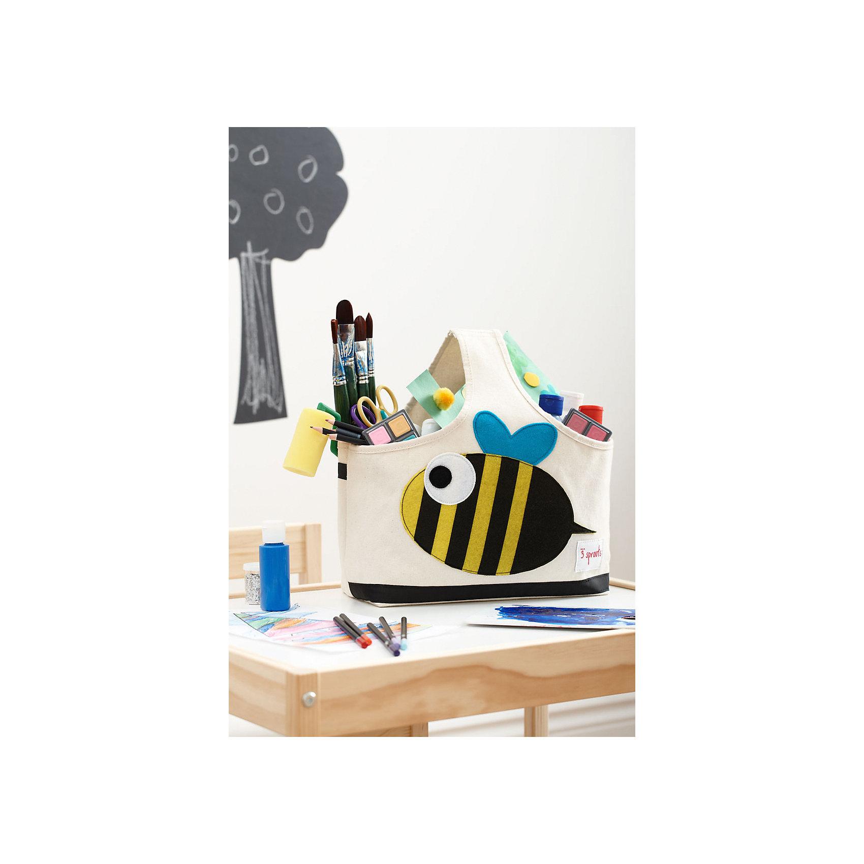 Сумочка для хранения детских принадлежностей Пчёлка (Black&Yellow Bee), 3 Sprouts от myToys