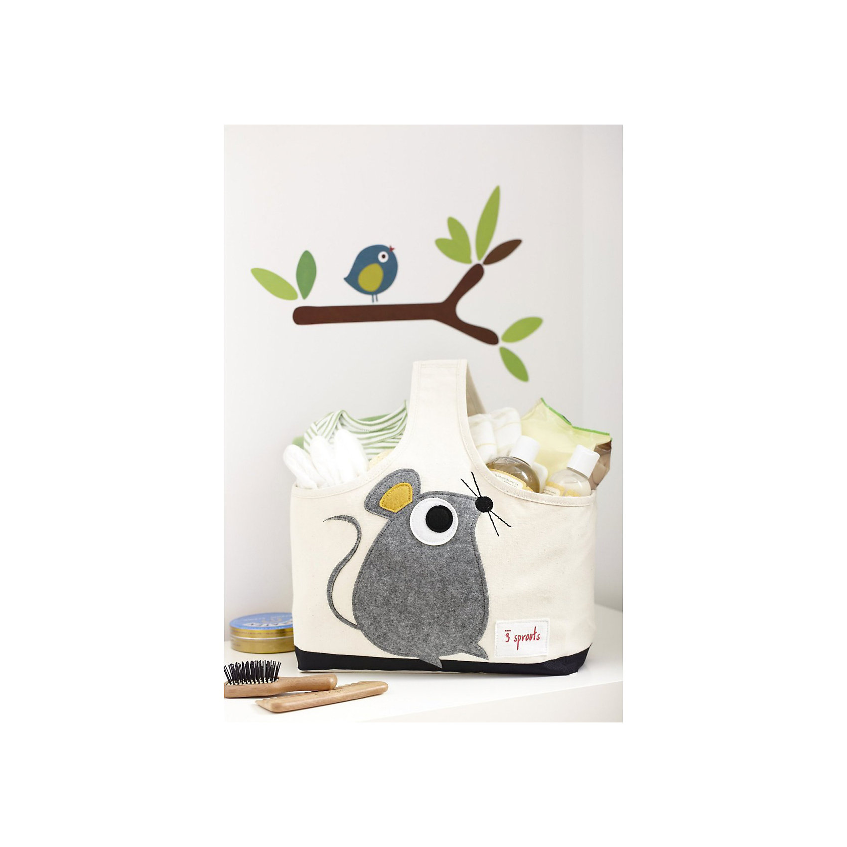 Сумочка для хранения детских принадлежностей Сова (Purple Owl), 3 Sprouts от myToys