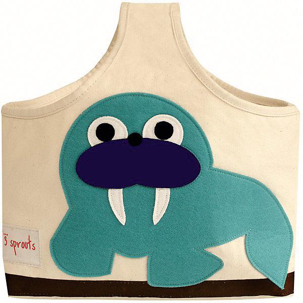 Сумочка для хранения детских принадлежностей Морж (Blue Walrus), 3 SproutsКорзины для игрушек<br>Яркая сумочка - это идеальное решение для хранения детских принадлежностей. Изготовленная из хлопкового брезента и фетра, она является прекрасным контейнером для хранения и переноски любых детских принадлежностей.<br><br>Дополнительная информация:<br><br>- Размер: 38x30x14 см.<br>- Материал: хлопок, фетр, полиэстер.<br>- Орнамент: Морж.<br><br>Купить сумочку для хранения детских принадлежностей Морж (Blue Walrus), можно в нашем магазине.<br>Ширина мм: 320; Глубина мм: 240; Высота мм: 20; Вес г: 234; Возраст от месяцев: 6; Возраст до месяцев: 84; Пол: Унисекс; Возраст: Детский; SKU: 5098234;