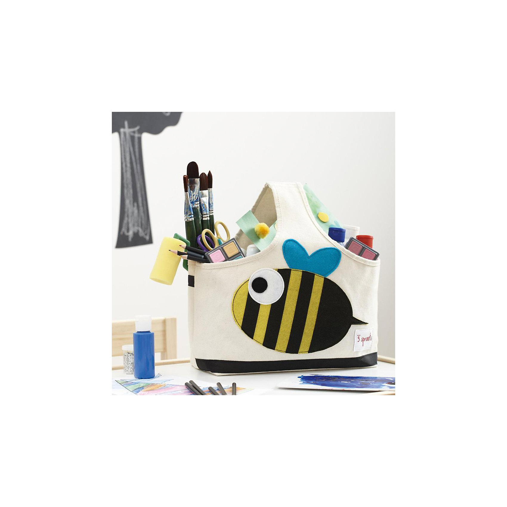 Сумочка для хранения детских принадлежностей Морж (Blue Walrus), 3 Sprouts от myToys