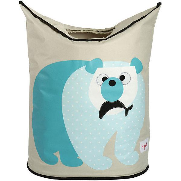 Корзина для белья Белый мишка (Blue Polar Bear), 3 SproutsКорзины для белья<br>Стильная корзина для хранения белья будет прекрасным декором в Вашей комнате!<br><br>Дополнительная информация:<br><br>- Размер: 56х48х28 см.<br>- Материал: полиэстер, полипропилен.<br>- Орнамент: Белый мишка.<br><br>Купить корзину для белья Белый мишка (Blue Polar Bear), можно в нашем магазине.<br><br>Ширина мм: 600<br>Глубина мм: 20<br>Высота мм: 40<br>Вес г: 554<br>Возраст от месяцев: 0<br>Возраст до месяцев: 588<br>Пол: Унисекс<br>Возраст: Детский<br>SKU: 5098239