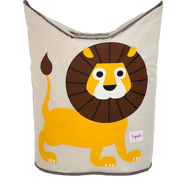 Корзина для белья Львёнок (Yellow Lion), 3 SproutsКорзины для белья<br>Стильная корзина для хранения белья будет прекрасным декором в Вашей комнате!<br><br>Дополнительная информация:<br><br>- Размер: 56х48х28 см.<br>- Материал: полиэстер, полипропилен.<br>- Орнамент: Львенок.<br><br>Купить корзину для белья Львенок (Yellow Lion), можно в нашем магазине.<br>Ширина мм: 600; Глубина мм: 20; Высота мм: 40; Вес г: 554; Возраст от месяцев: 0; Возраст до месяцев: 588; Пол: Унисекс; Возраст: Детский; SKU: 5098240;