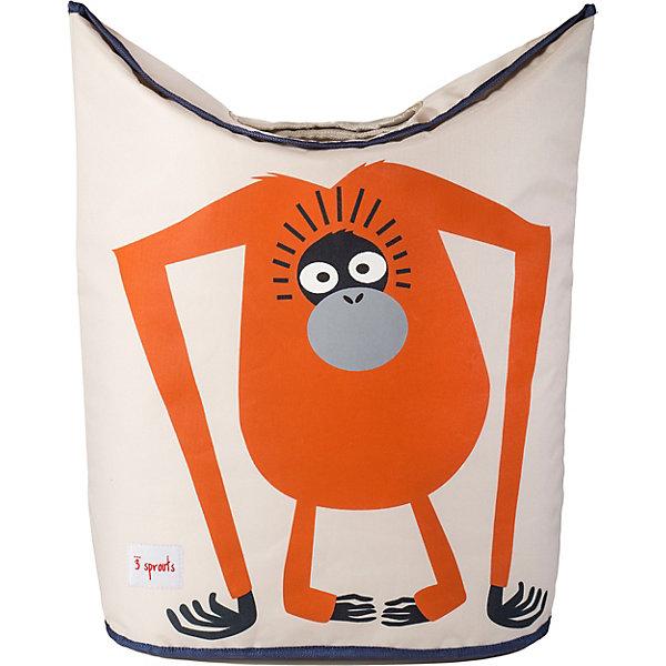 Корзина для белья Орангутанг (Orangutan), 3 SproutsКорзины для белья<br>Стильная корзина для хранения белья будет прекрасным декором в Вашей комнате!<br><br>Дополнительная информация:<br><br>- Размер: 56х48х28 см.<br>- Материал: полиэстер, полипропилен.<br>- Орнамент: Орангутанг.<br><br>Купить корзину для белья Орангутанг (Orangutan), можно в нашем магазине.<br>Ширина мм: 600; Глубина мм: 20; Высота мм: 40; Вес г: 554; Цвет: оранжевый; Возраст от месяцев: 0; Возраст до месяцев: 588; Пол: Унисекс; Возраст: Детский; SKU: 5098242;
