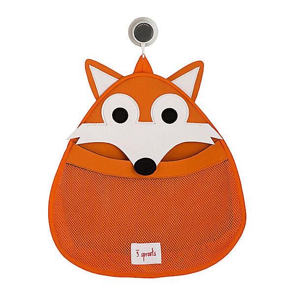 Органайзер для ванной Лисичка (Orange Fox), 3 SproutsТовары для купания<br>Такой яркий органайзер прекрасно подойдёт для хранения банных принадлежностей Вашего малыша! <br><br>Дополнительная информация:<br><br>- Размер: 38х37 см.<br>- Материал: 100% неопрен, 100% полиэстер.<br>- Орнамент: Лисичка.<br><br>Купить органайзер для ванной Лисичка (Orange Fox), можно в нашем магазине.<br>Ширина мм: 390; Глубина мм: 25; Высота мм: 370; Вес г: 380; Возраст от месяцев: 6; Возраст до месяцев: 84; Пол: Унисекс; Возраст: Детский; SKU: 5098244;
