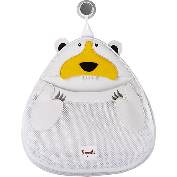 Органайзер для ванной Белый мишка (White Polar bear), 3 SproutsТовары для купания<br>Такой яркий органайзер прекрасно подойдёт для хранения банных принадлежностей Вашего малыша! <br><br>Дополнительная информация:<br><br>- Размер: 38х37 см.<br>- Материал: 100% неопрен, 100% полиэстер.<br>- Орнамент: Белый мишка.<br><br>Купить органайзер для ванной Белый мишка (White Polar bear), можно в нашем магазине.<br><br>Ширина мм: 390<br>Глубина мм: 25<br>Высота мм: 370<br>Вес г: 380<br>Возраст от месяцев: 6<br>Возраст до месяцев: 84<br>Пол: Унисекс<br>Возраст: Детский<br>SKU: 5098246