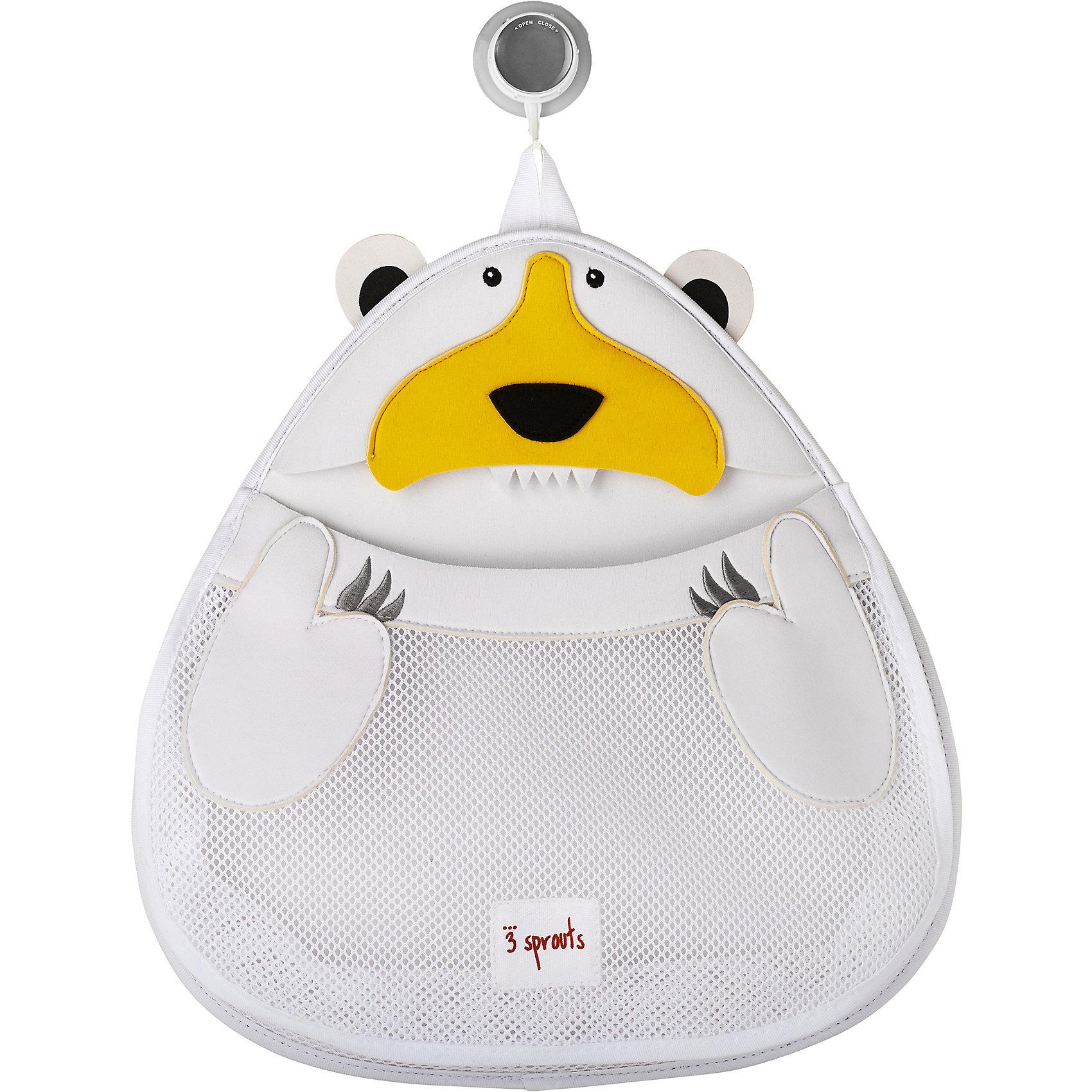 Органайзер для ванной Белый мишка (White Polar bear), 3 SproutsВанная комната<br>Такой яркий органайзер прекрасно подойдёт для хранения банных принадлежностей Вашего малыша! <br><br>Дополнительная информация:<br><br>- Размер: 38х37 см.<br>- Материал: 100% неопрен, 100% полиэстер.<br>- Орнамент: Белый мишка.<br><br>Купить органайзер для ванной Белый мишка (White Polar bear), можно в нашем магазине.<br><br>Ширина мм: 390<br>Глубина мм: 25<br>Высота мм: 370<br>Вес г: 380<br>Возраст от месяцев: 6<br>Возраст до месяцев: 84<br>Пол: Унисекс<br>Возраст: Детский<br>SKU: 5098246