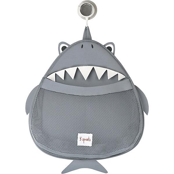 Органайзер для ванной Акула (Grey Shark), 3 SproutsТовары для купания<br>Такой яркий органайзер прекрасно подойдёт для хранения банных принадлежностей Вашего малыша! <br><br>Дополнительная информация:<br><br>- Размер: 38х37 см.<br>- Материал: 100% неопрен, 100% полиэстер.<br>- Орнамент: Акула.<br><br>Купить органайзер для ванной Акула (Grey Shark), можно в нашем магазине.<br>Ширина мм: 390; Глубина мм: 25; Высота мм: 370; Вес г: 380; Возраст от месяцев: 6; Возраст до месяцев: 84; Пол: Унисекс; Возраст: Детский; SKU: 5098247;