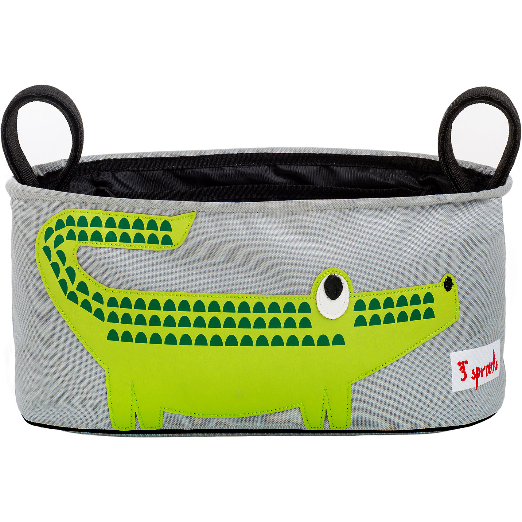 Сумка-органайзер для коляски Крокодил (Green Crocodile), 3 SproutsМилая сумка-органайзер для мамы. Всё необходимое будет под рукой, когда Вы отправитесь на прогулку со своим малышом. Сумочку можно просто протирать при необходимости, она имеет два отделённых отсека для стакана или бутылки. Так же, есть специальный потайной кармашек для ключей и телефона.<br><br>Дополнительная информация:<br><br>- Размер: 32x15x13 см.<br>- Материал: полиэстер.<br>- Орнамент: Крокодил.<br><br>Купить сумку-органайзер для коляски Крокодил (Green Crocodile), можно в нашем магазине.<br><br>Ширина мм: 420<br>Глубина мм: 25<br>Высота мм: 180<br>Вес г: 226<br>Возраст от месяцев: 0<br>Возраст до месяцев: 36<br>Пол: Унисекс<br>Возраст: Детский<br>SKU: 5098252