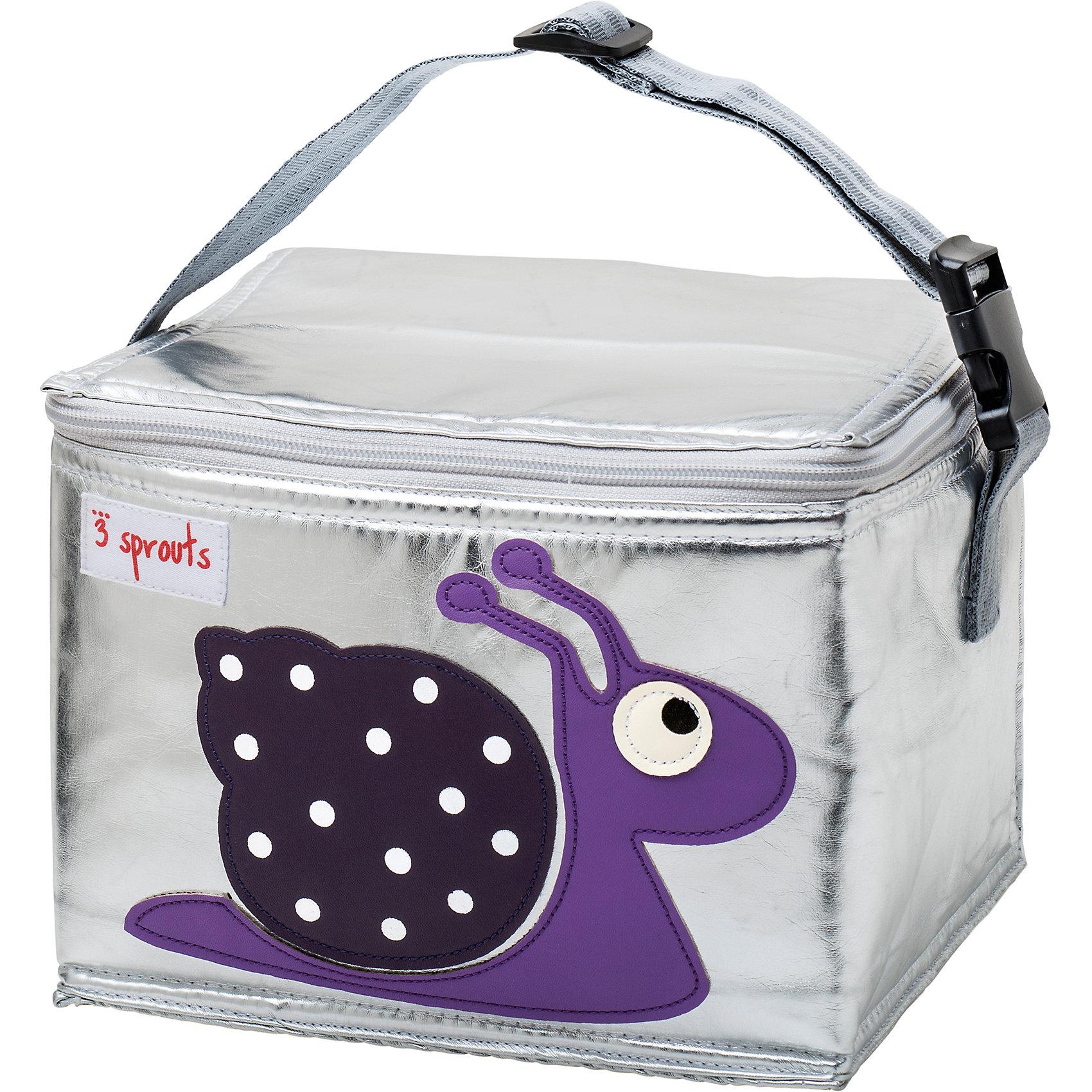 Сумка для обеда Улитка (Purple Snail SPR1004), 3 Sprouts, фиолетовыйПрекрасная сумка для обеда! Размер идеален для контейнеров, так что вы можете отправить детей в школу вместе с сытными закусками и обедами.<br><br>Дополнительная информация:<br><br>- Размер: 17х17х22 см.<br>- Материал: полиуретан, полиэтиленовая пена, PEVA.<br>- Орнамент: Улитка.<br>- Цвет: фиолетовый.<br><br>Купить сумку для обеда Улитка (Purple Snail), можно в нашем магазине.<br><br>Ширина мм: 170<br>Глубина мм: 40<br>Высота мм: 250<br>Вес г: 200<br>Возраст от месяцев: 6<br>Возраст до месяцев: 84<br>Пол: Унисекс<br>Возраст: Детский<br>SKU: 5098263