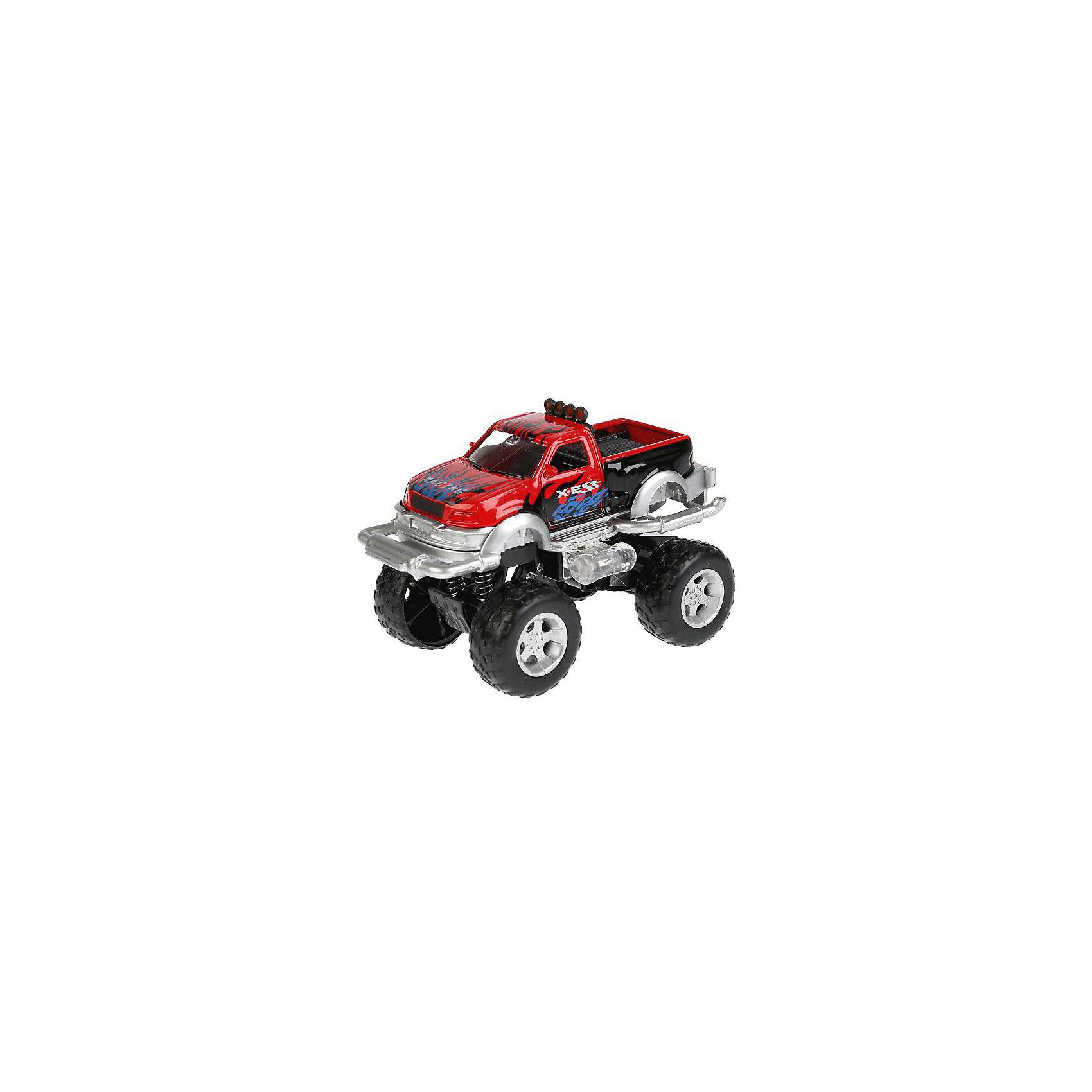 Машина, ТехнопаркКоллекционные модели<br>Машина, Технопарк<br><br>Характеристики:<br><br>• световые эффекты<br>• звук мотора<br>• инерционный механизм<br>• материал: металл, пластик<br>• длина игрушки: 11 см<br>• размер упаковки: 19х17х9 см<br>• вес: 200 грамм<br>• батарейки: AG13 - 2 шт. (входят в комплект)<br><br>Машина от ТЕХНОПАРК - восхитительный подарок для любителей больших автомобилей. Модель имеет огромные колеса и инерционный механизм. Достаточно отвести машину назад - и она быстро помчится вперед, радуя ребенка.  Если нажать на капот, то лампочки загорятся синим цветом, а мотор начнет издавать очень правдоподобные звуки. С этой машинкой ваш ребенок будет играть в хорошем настроении!<br><br>Машину, Технопарк вы можете купить в нашем интернет-магазине.<br><br>Ширина мм: 90<br>Глубина мм: 170<br>Высота мм: 190<br>Вес г: 270<br>Возраст от месяцев: 36<br>Возраст до месяцев: 72<br>Пол: Мужской<br>Возраст: Детский<br>SKU: 5099096