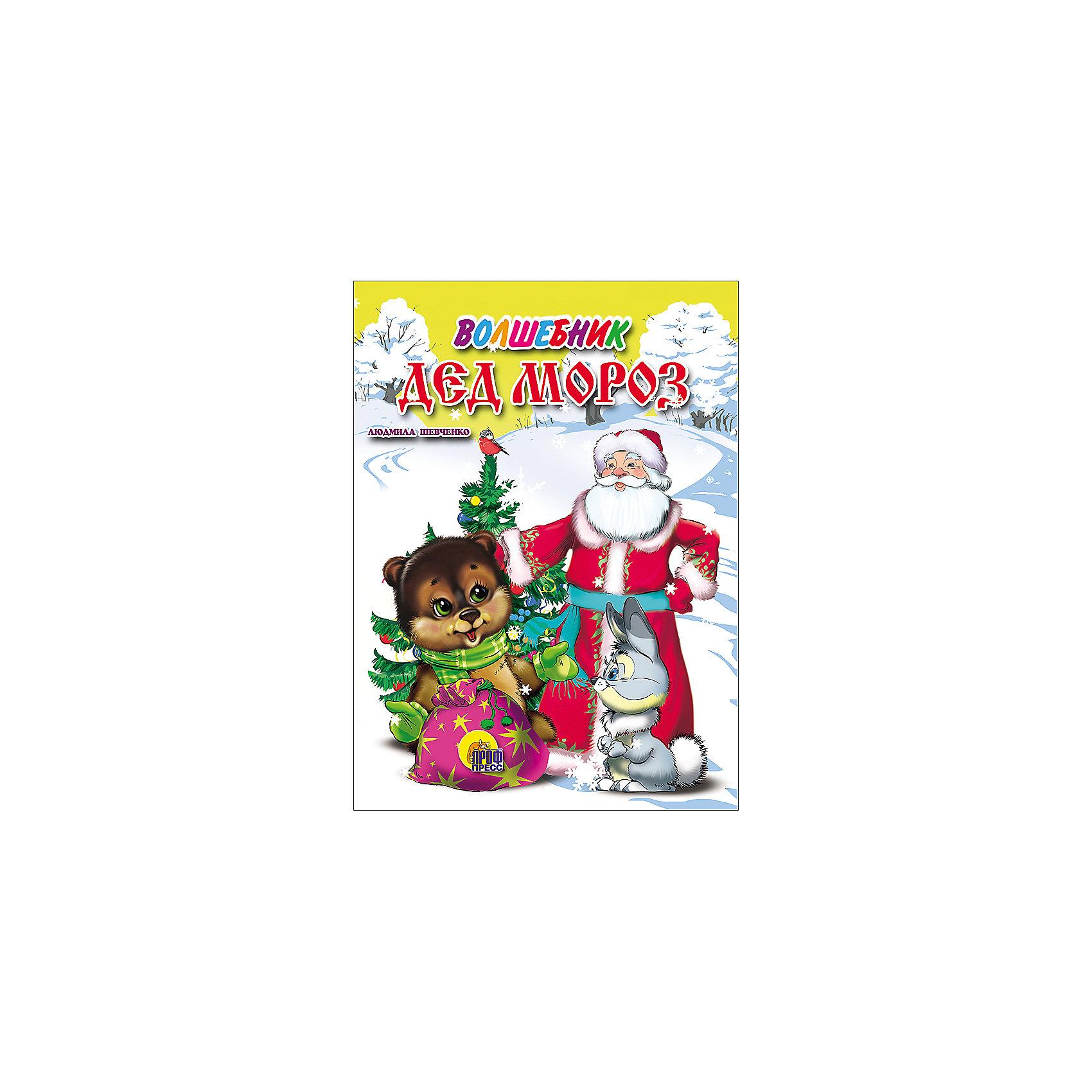 Проф-Пресс Волшебник Дед Мороз книжки пазлы проф пресс 978 5 378 08246 9