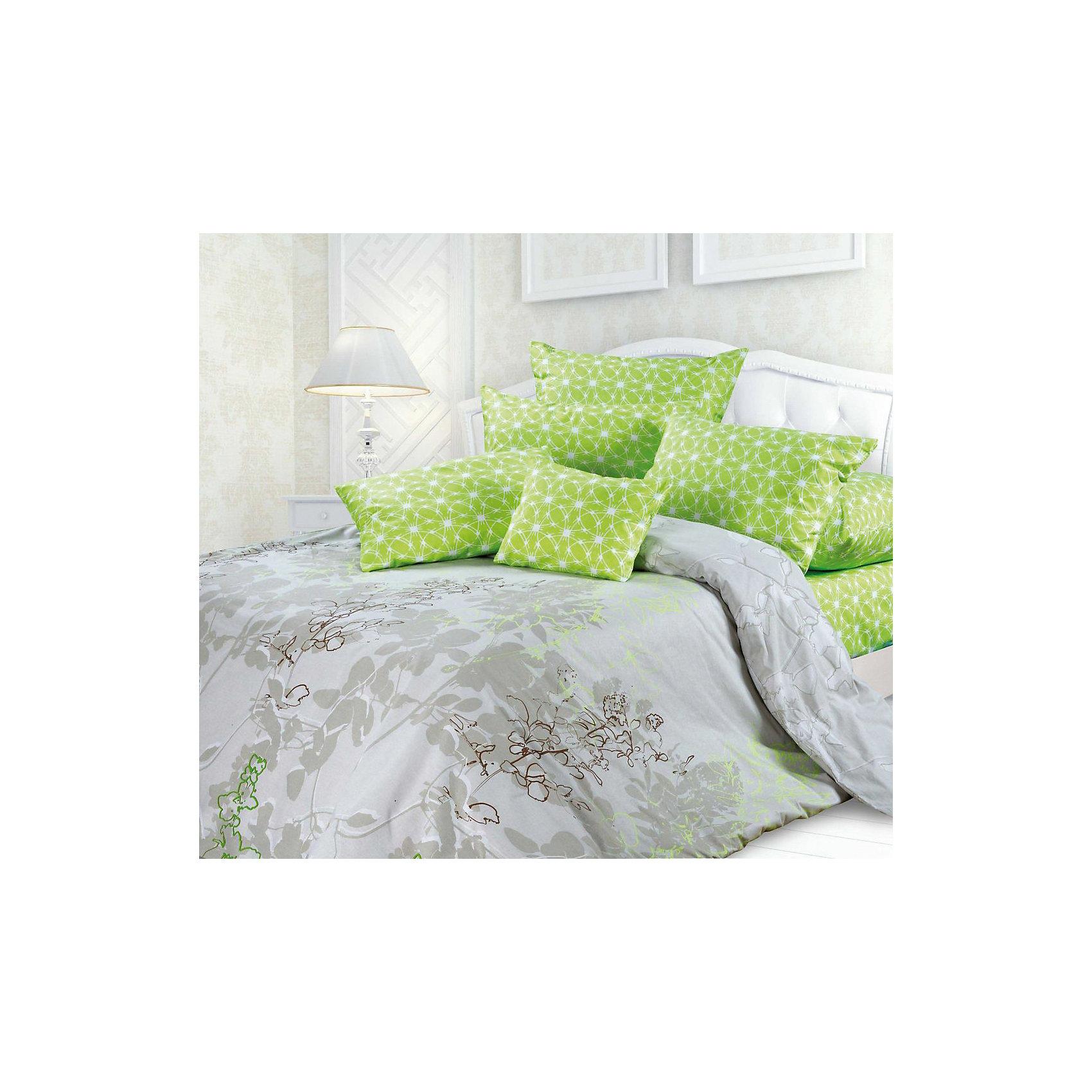 Постельное белье 1,5 сп. Милена, Унисон биоматинДомашний текстиль<br>Характеристики 1,5 спального постельного белья   Милена  серии  (Унисон):<br> <br>- производитель: Неотек<br>- материал: биоматин<br>- состав: 100% хлопок<br>- размер комплекта: полутораспальный<br>- размер пододеяльника: 215*145 см.<br>- размер простыни: 220*150 см.<br>- размер наволочек: 70*70 (2 шт)<br>- упаковка комплекта: книжка пвх<br>- страна бренда: Россия<br>- страна производитель: Россия<br><br>Свежий, весенний комплект постельного белья Милена сочетает в себе пододеяльник в пастельных тонах, украшенный ненавязчивым цветочным рисунком яркие наволочки и простыню цвета зеленого яблока. Комплект изготовлен из современной хлопковой ткани – биоматина, который обладает всеми положительными качествами хлопчатобумажной ткани: прочность, гигроскопичность, воздухопроницаемость, долговечность. Особенность этого материала заключается в его свойствах – летом, в жару, он сохраняет приятную прохладу, а зимой наоборот – дарит комфорт и уют, что так необходимо для полноценного сна! Ткань биоматин экологически безопасна как для взрослых, так и для детей,  также она является гипоаллергенной. При обработке биоматина четко соблюдаются принципы охраны окружающей среды и защиты здоровья.В комплект входит простыня, пододеяльник и две наволочки.<br><br>Комплекта постельного белья   Милена  серии Унисон можно купить в нашем интернет-магазине.<br><br>Ширина мм: 370<br>Глубина мм: 70<br>Высота мм: 370<br>Вес г: 1400<br>Возраст от месяцев: 36<br>Возраст до месяцев: 216<br>Пол: Унисекс<br>Возраст: Детский<br>SKU: 5100106
