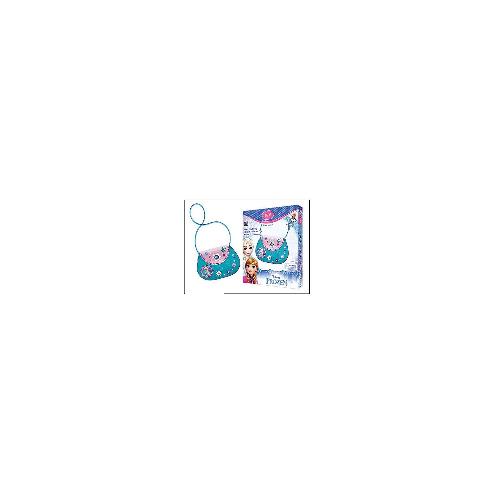 Шьем сумку из EVA Эльза, Холодное сердцеРукоделие<br>Изготовлено из пластмассы (в т.ч. вспененной и с клеевым слоем), с элементами из текстильных материалов, металла (магнита) Детали из EVA, шнурок, страза, пайетки, нитки, безопасная иголка, магнитный замок<br><br>Ширина мм: 210<br>Глубина мм: 30<br>Высота мм: 250<br>Вес г: 100<br>Возраст от месяцев: 60<br>Возраст до месяцев: 96<br>Пол: Женский<br>Возраст: Детский<br>SKU: 5101010