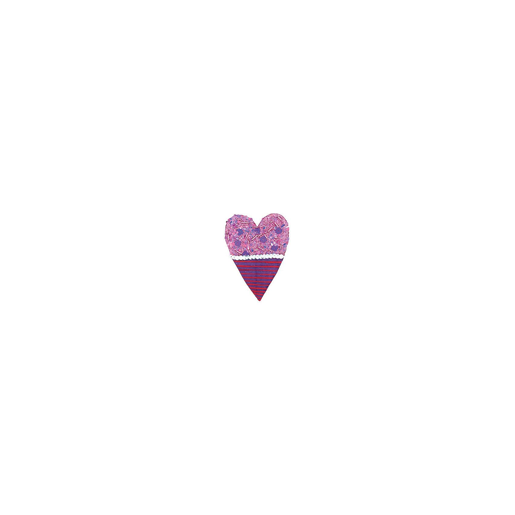 Marko Ferenzo Фиолетовое украшение Сердце 11 см marko ferenzo набор желудей 3 шт grande 4 см золотой