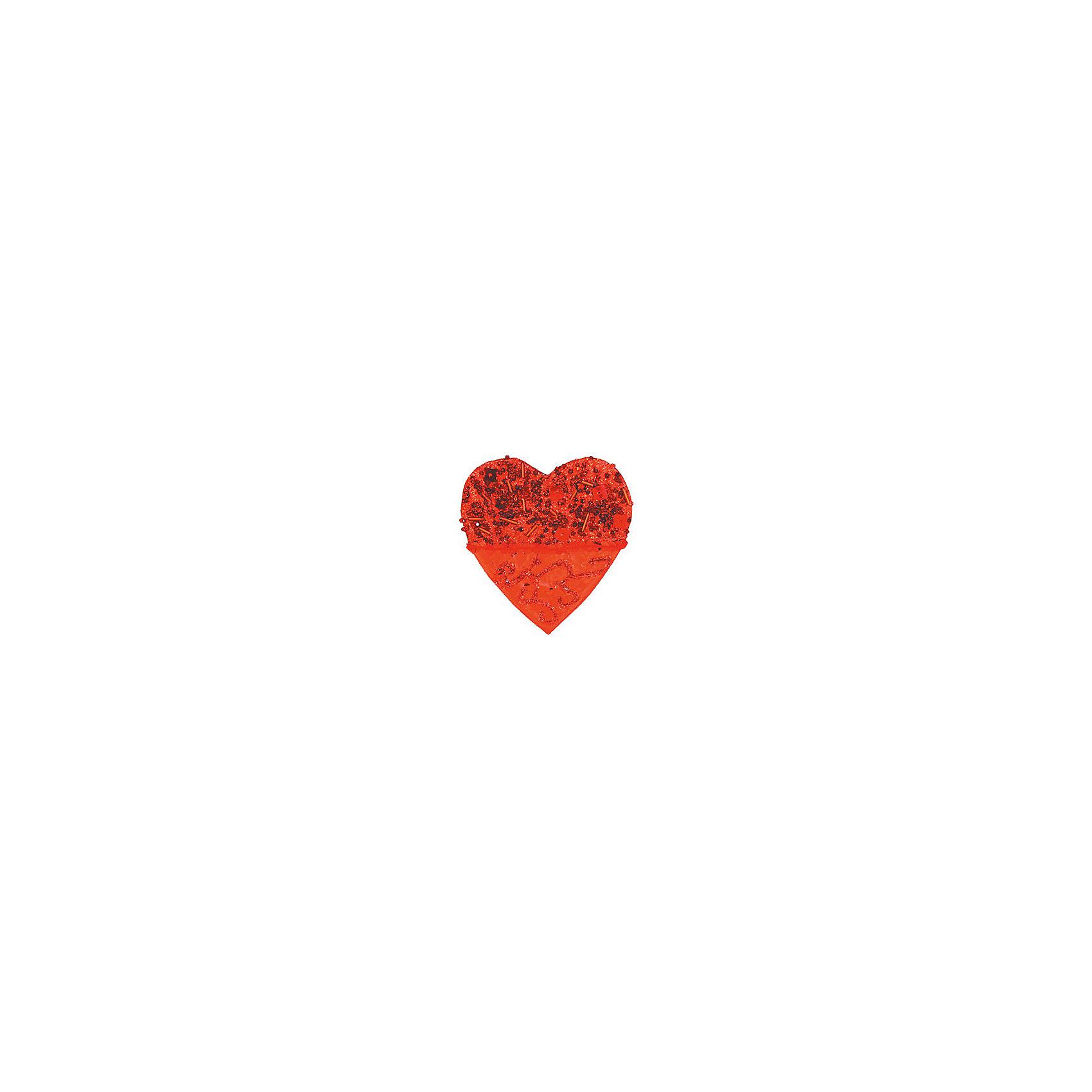 Marko Ferenzo Красное украшение Сердце 10 см marko ferenzo набор желудей 3 шт grande 4 см золотой
