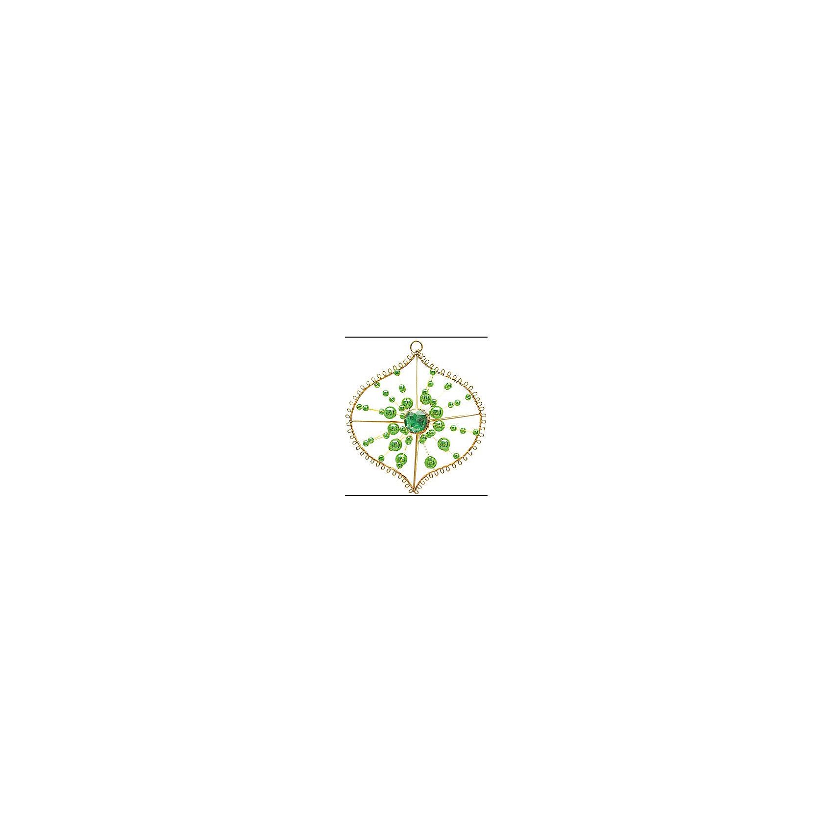 Marko Ferenzo Украшение Луковица (зелёный, золотой) marko ferenzo набор желудей 3 шт grande 4 см золотой