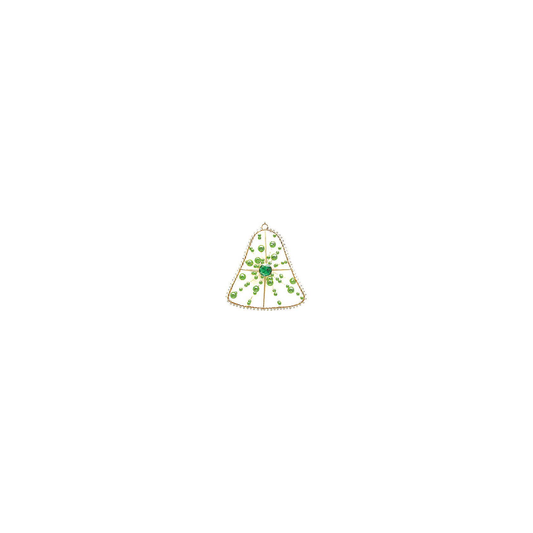 Marko Ferenzo Украшение Колокол (зелёный, золотой) marko ferenzo набор желудей 3 шт grande 4 см золотой