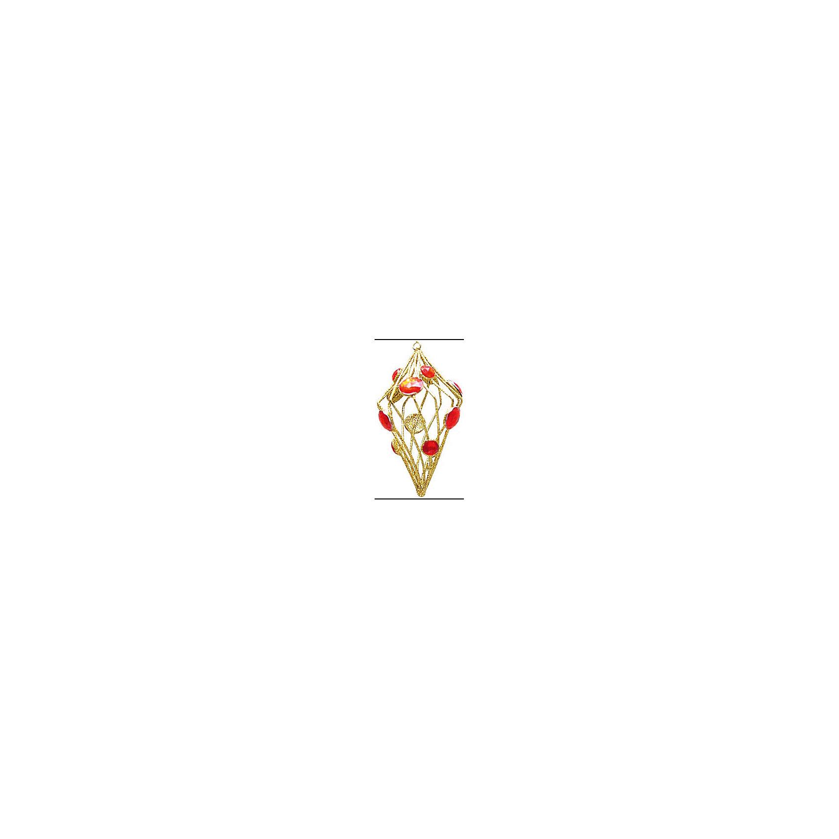Marko Ferenzo Украшение  Витой рубин (красный, золотой) marko ferenzo набор желудей 3 шт grande 4 см золотой