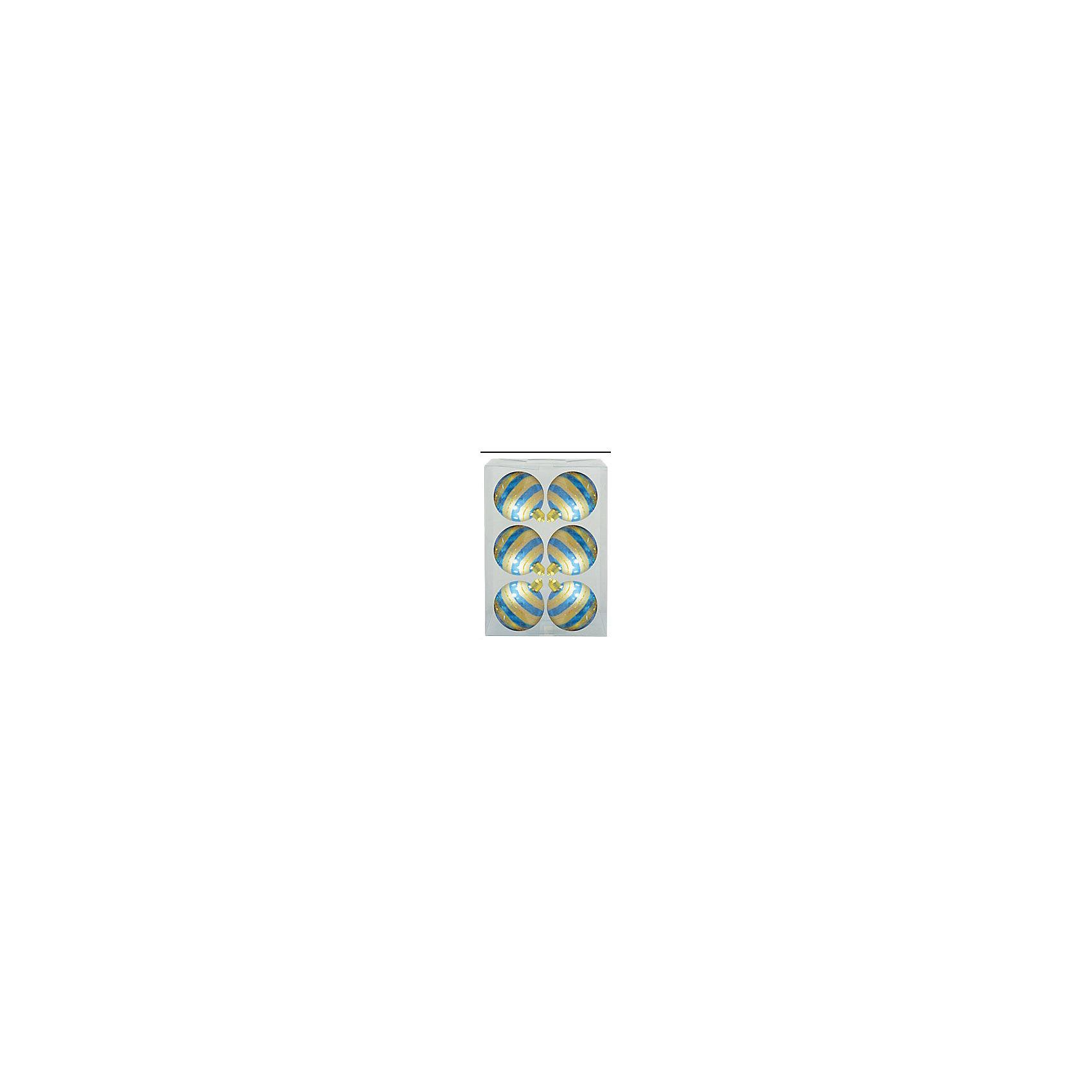 Набор шаров Детский 6 шт, 6 см, бирюза глянцевый с узоромнабор шаров ДЕТСКИЙ 6 шт, 6 см, бирюза глянц с узором  золот полоса<br><br>Ширина мм: 200<br>Глубина мм: 200<br>Высота мм: 10<br>Вес г: 100<br>Возраст от месяцев: 36<br>Возраст до месяцев: 2147483647<br>Пол: Унисекс<br>Возраст: Детский<br>SKU: 5101044