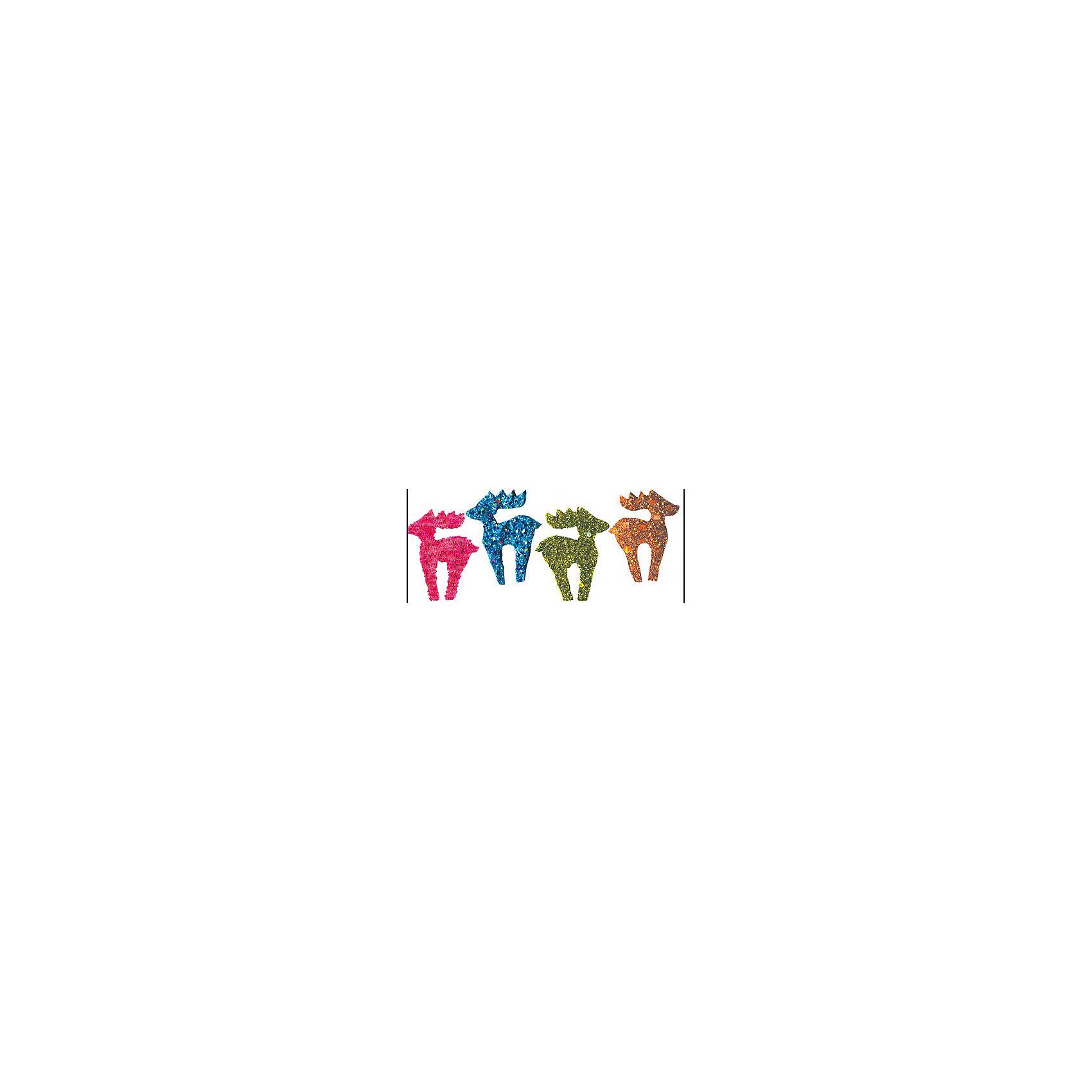 Marko Ferenzo Набор украшений Олененок 11 см, 4 шт marko ferenzo набор шаров русский 8 см 4 шт золото