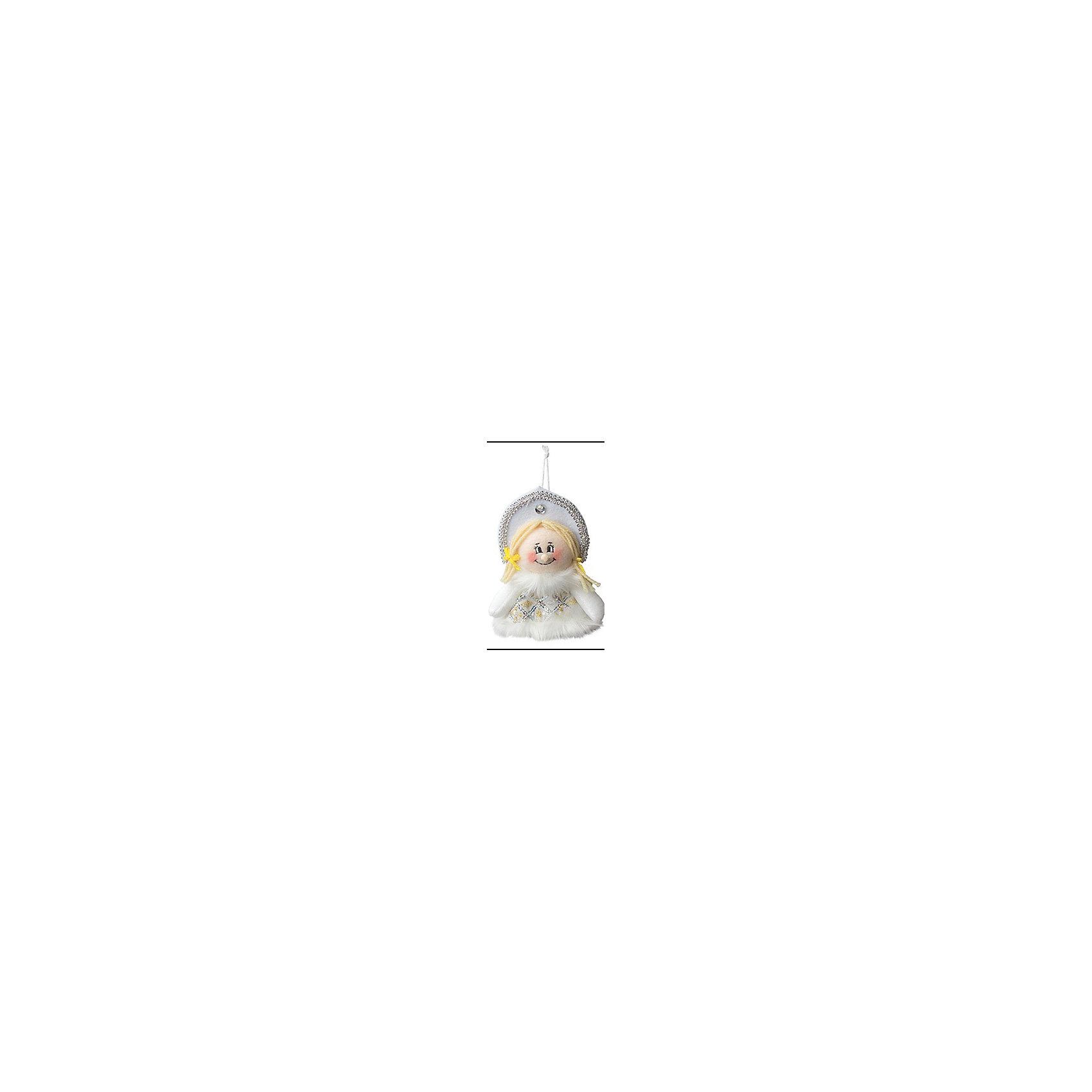 Marko Ferenzo Украшение Снегурочка 18 см, серебро елочное украшение носок marko ferenzo