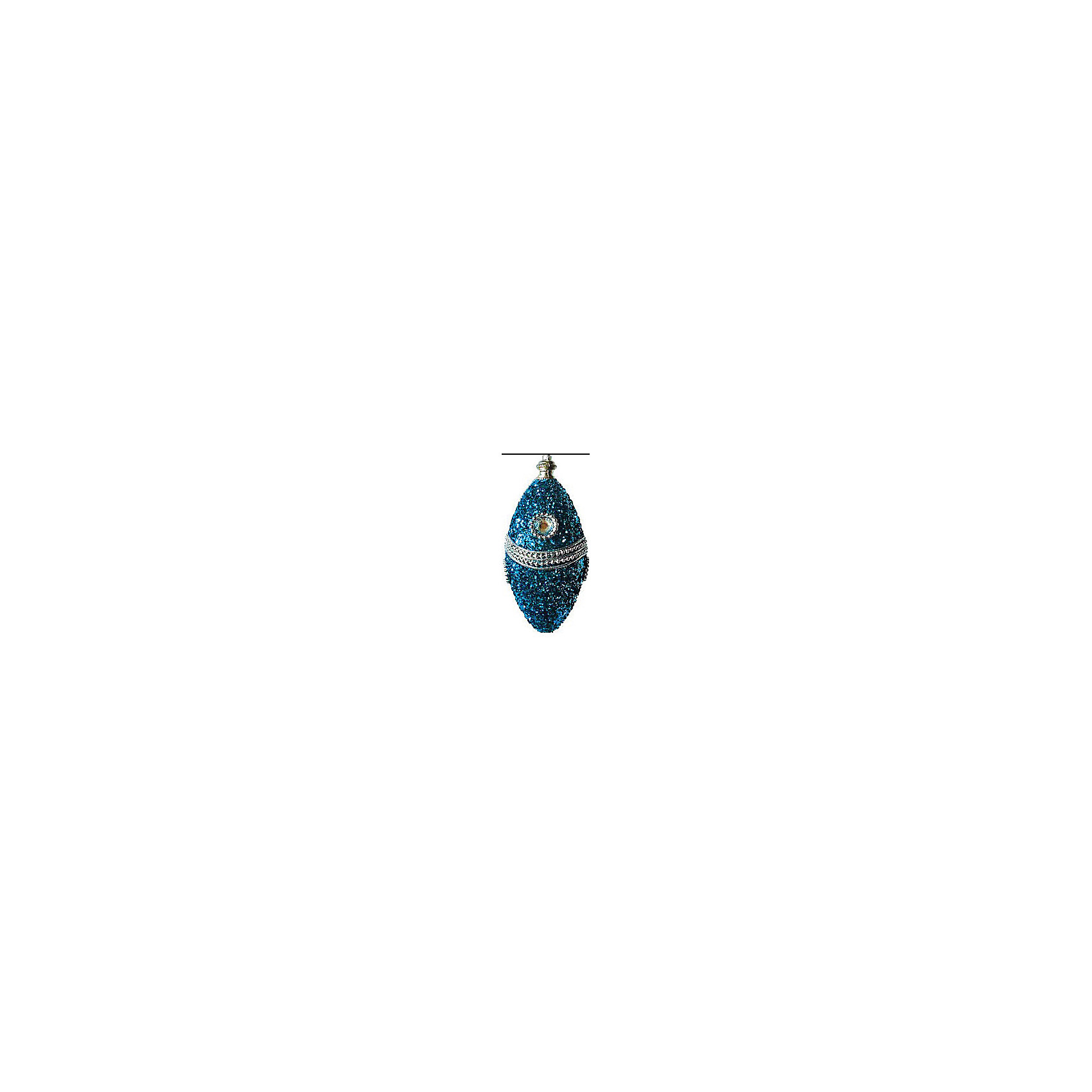 Marko Ferenzo Набор Сосулька 13 см, 3 шт, синий/серебро marko ferenzo набор шаров русский 8 см 4 шт золото