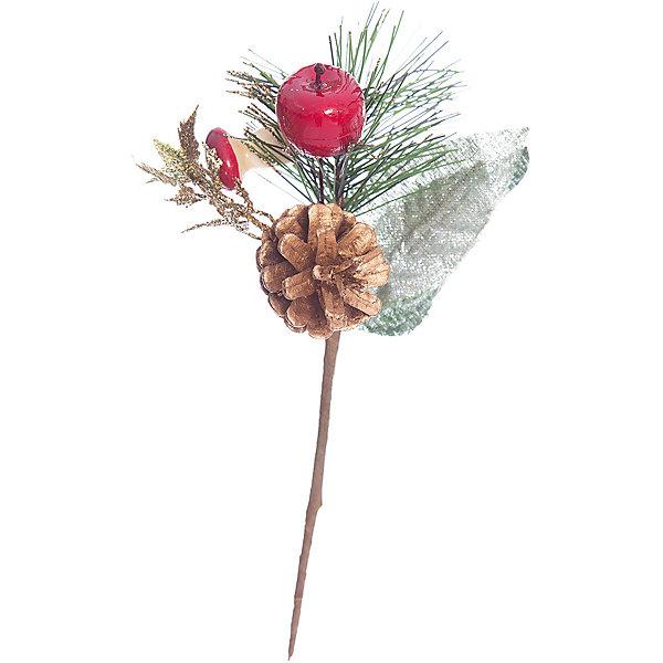 ёл. укр. веточка, 7х10см, 1шт, ягоды, шишкиЁлочные игрушки<br>Новогодние  и елочные украшения, в т.ч. пластиковые шары, украшения фигурные, изображающие представителей флоры, фауны, сказочных персонажей, верхушки, бусы, ветки, бантики, гирлянды и фонарики  (без подключения к сети переменного тока), конфетти, мишура, дождик, серпантин,  панно, венки, ели, ленты декоративные<br><br>Ширина мм: 100<br>Глубина мм: 70<br>Высота мм: 70<br>Вес г: 57<br>Возраст от месяцев: 36<br>Возраст до месяцев: 2147483647<br>Пол: Унисекс<br>Возраст: Детский<br>SKU: 5101086