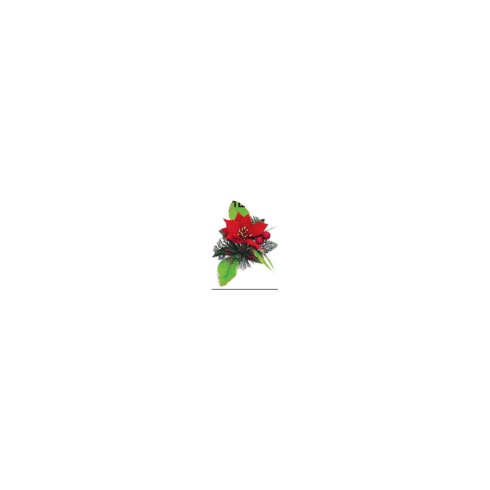 Marko Ferenzo Украшение Веточка 13х19 см, 1шт, красный