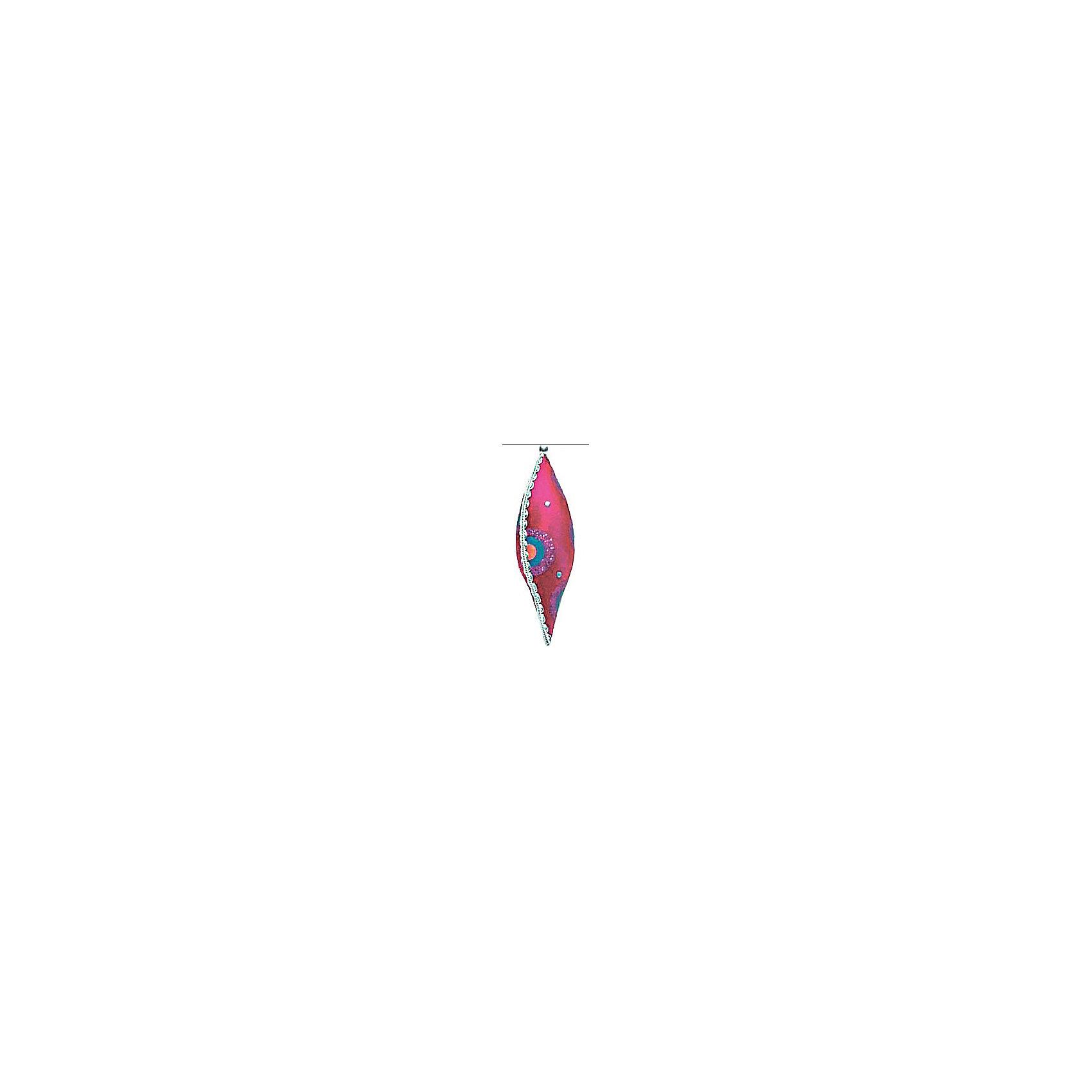 Marko Ferenzo Украшение Детская: сосулька флок, 15 см елочное украшение носок marko ferenzo