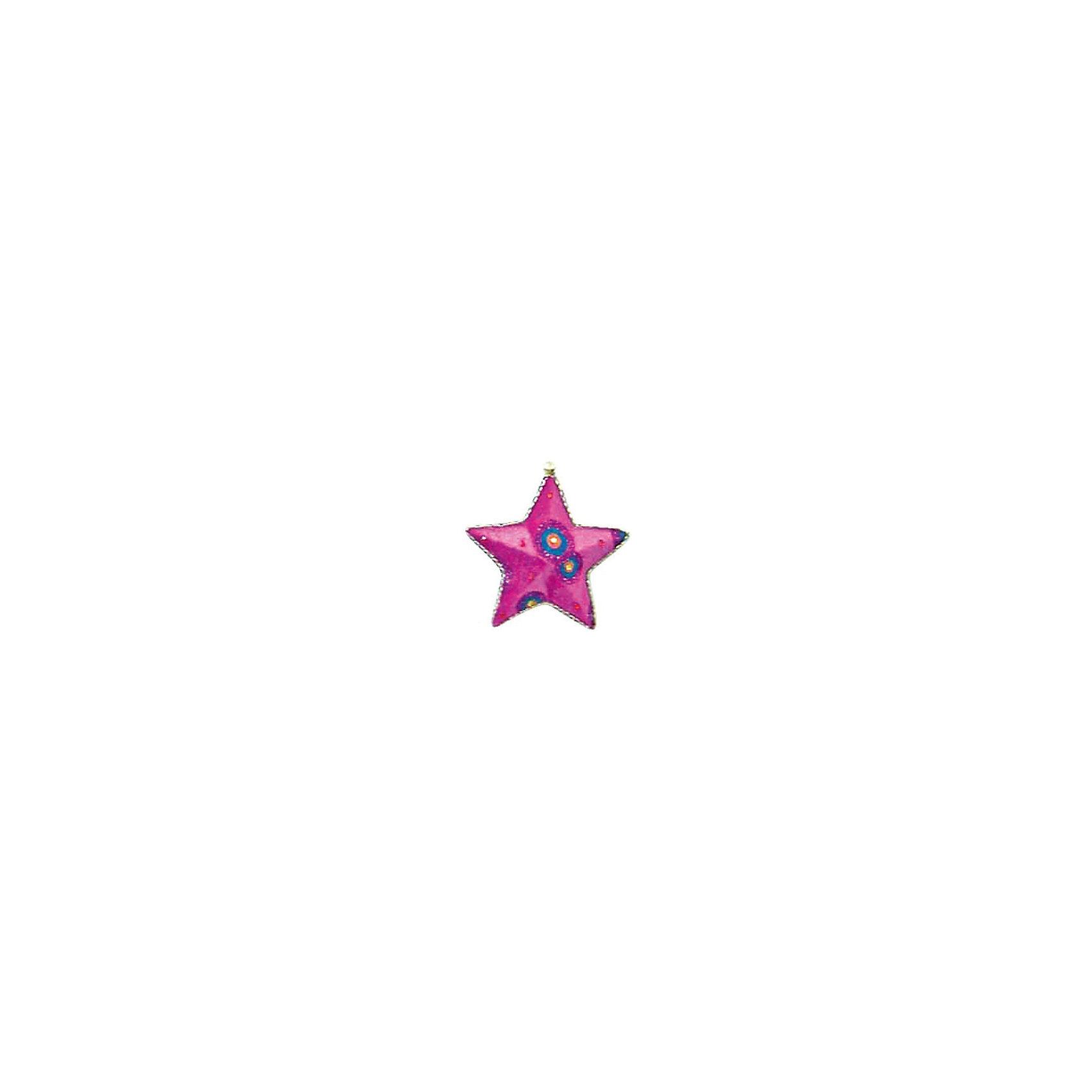 Marko Ferenzo Украшение Детская: звезда флок, 13 см елочное украшение носок marko ferenzo