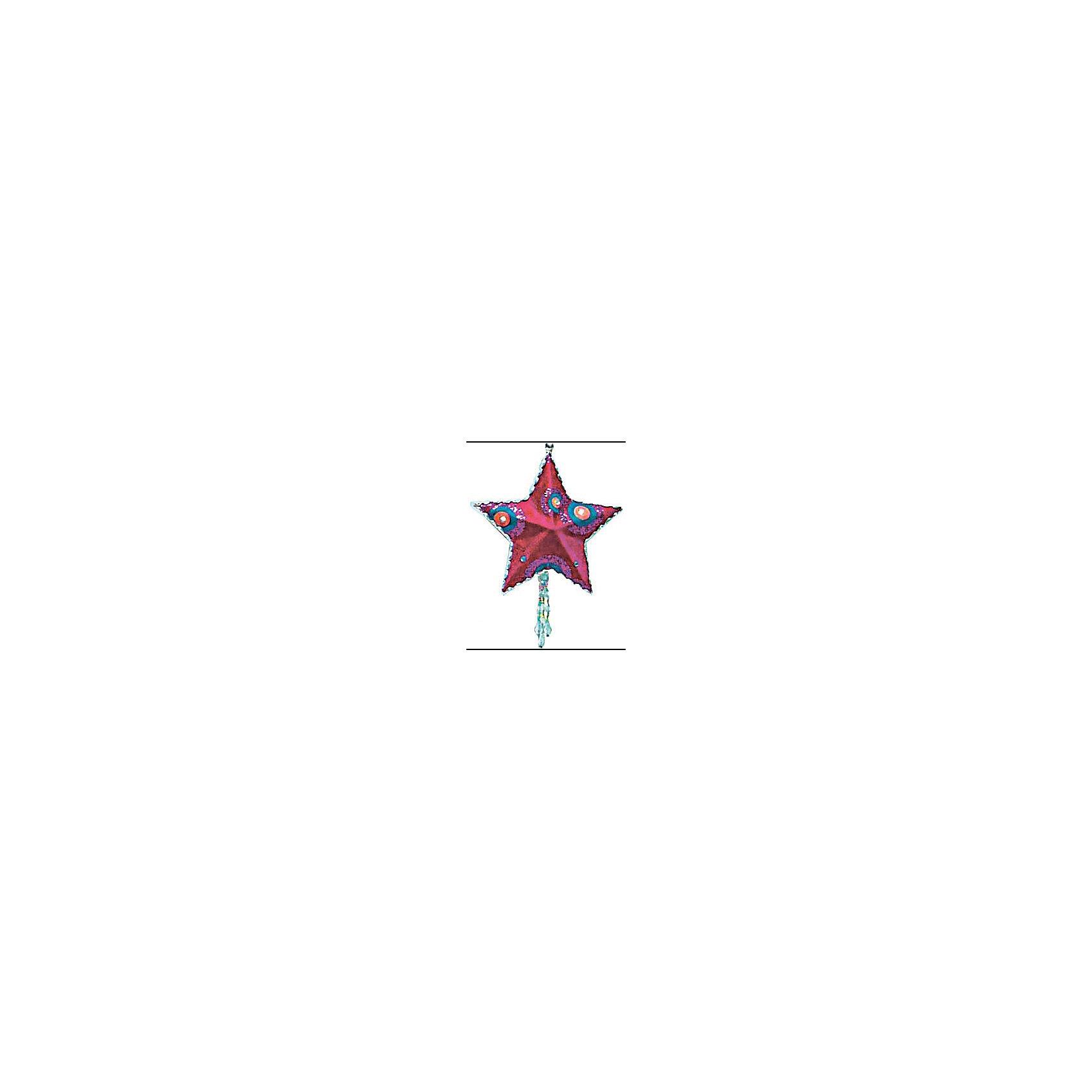 Украшение Детская: звезда флок, 13 смёл. укр. ДЕТСКАЯ звезда, флок, 13см, 1шт, малиновый<br><br>Ширина мм: 250<br>Глубина мм: 50<br>Высота мм: 50<br>Вес г: 100<br>Возраст от месяцев: 36<br>Возраст до месяцев: 2147483647<br>Пол: Унисекс<br>Возраст: Детский<br>SKU: 5101101