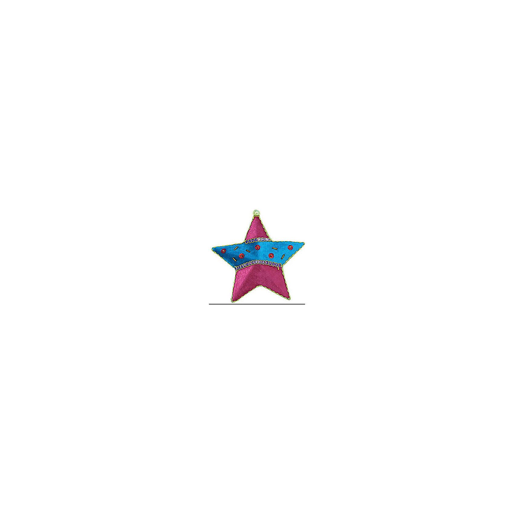 Marko Ferenzo Украшение  Детский: звезда флок, 13 см елочное украшение носок marko ferenzo
