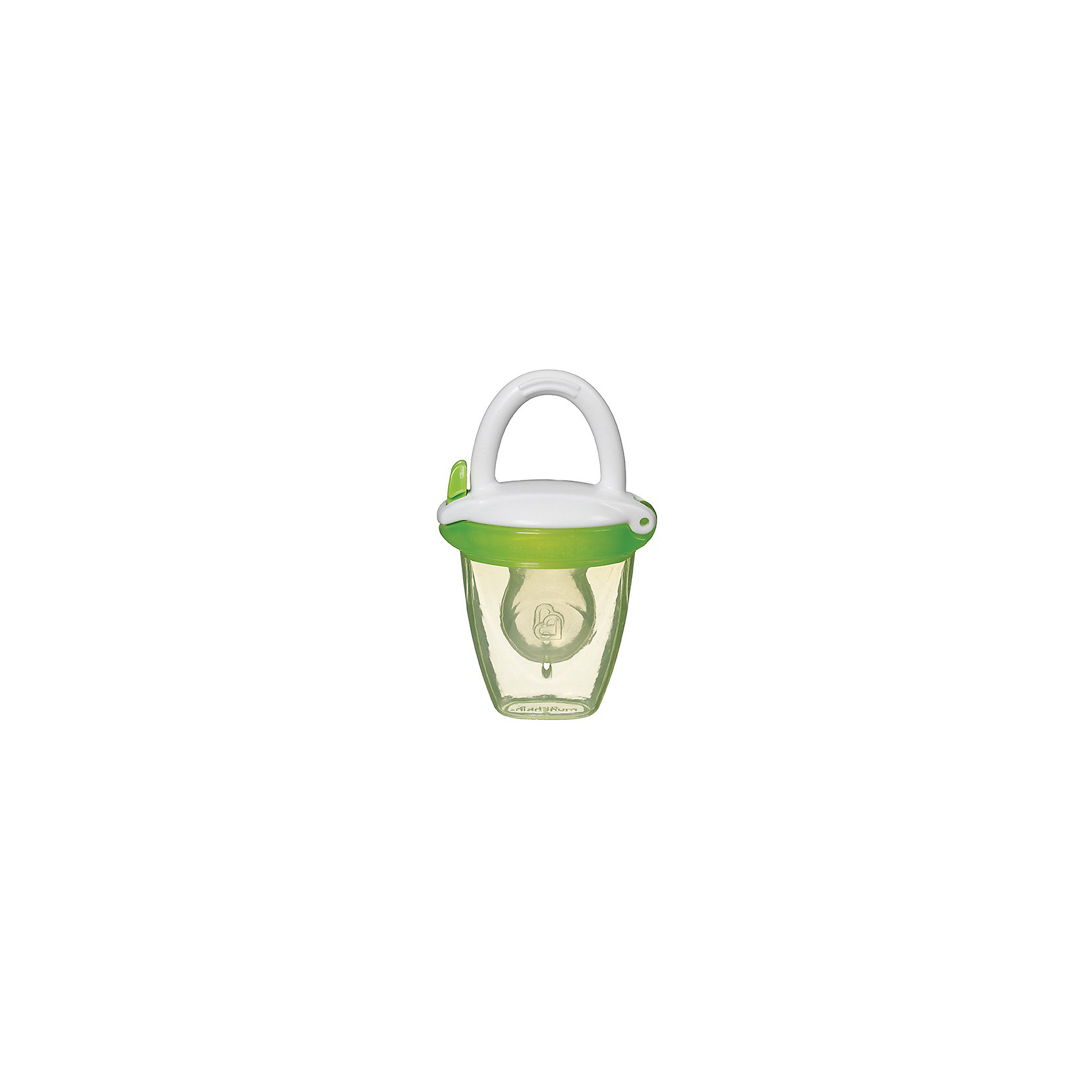 Ниблер для детского питания, Munchkin, зеленыйПрочие товары для кормления<br>Ниблер для детского питания, Munchkin, зеленый<br><br>Характеристики:<br><br>• Цвет: зеленый<br>• Материал: пластик, силикон<br>• Не содержит бисфенол А<br>• От 4 месяцев<br><br>Красивый и полностью безопасный ниблер сделан из качественных материалов, которые не содержат вредных веществ. Отлично подходят для введения прикорма: кусочков фруктов, овощей, печенья и даже мяса. Силиконовая часть, в которую помещены кусочки фруктов и овощей, пропускает еду в виде пюре. Это помогает на первоначальных этапах прикорма. Кроме этого ниблер может послужить прорезывателем для зубов. Удобная ручка не выскальзывает из маленьких рук ребенка и помогает ему самостоятельно учиться кушать. Есть крышечка в комплекте. Ниблер легко чистить.<br><br>Ниблер для детского питания, Munchkin, зеленый можно купить в нашем интернет-магазине.<br><br>Ширина мм: 50<br>Глубина мм: 200<br>Высота мм: 100<br>Вес г: 50<br>Возраст от месяцев: 4<br>Возраст до месяцев: 12<br>Пол: Унисекс<br>Возраст: Детский<br>SKU: 5101194