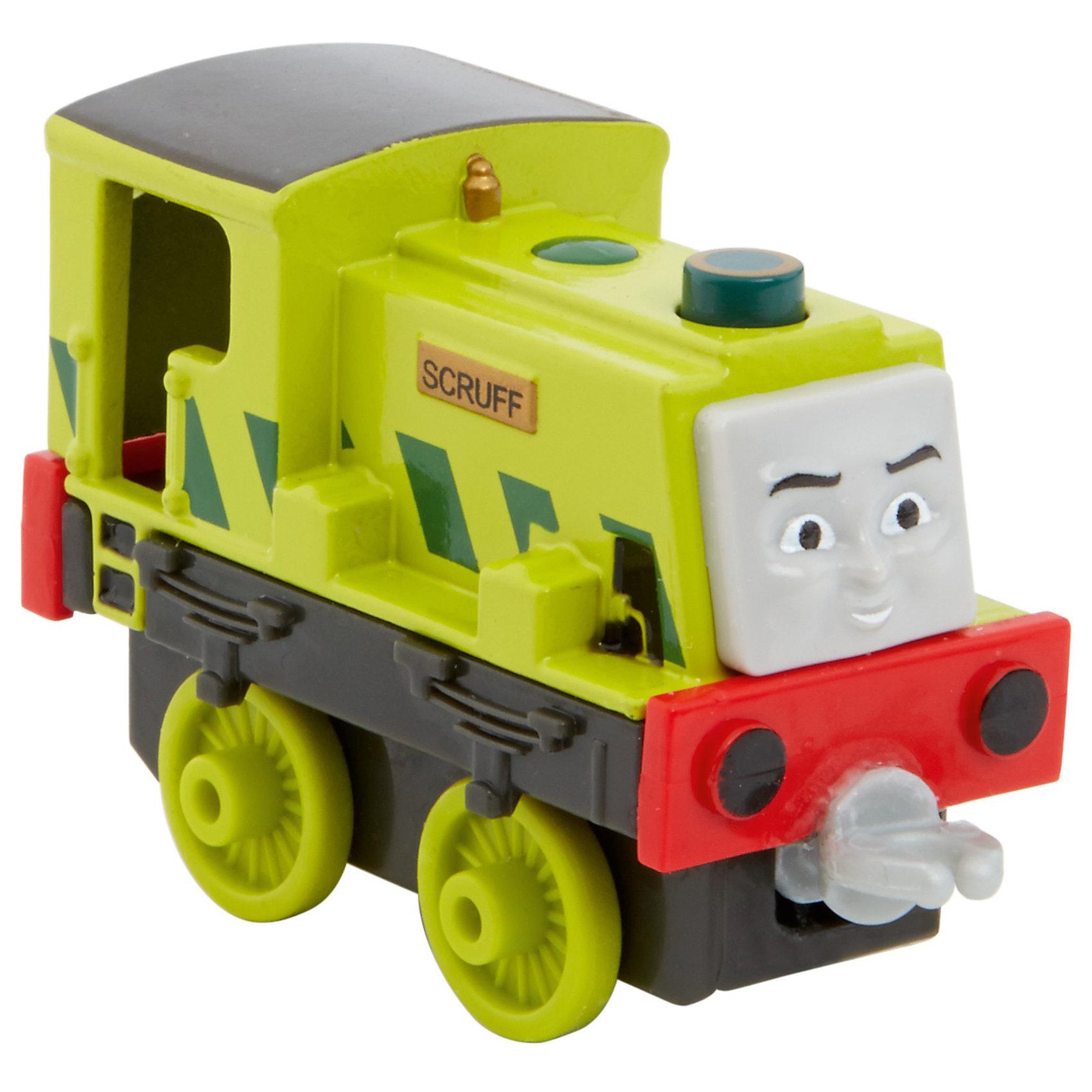 Mattel Паровозик Скрафф, Fisher Price, Томас и его друзья mattel игрушки веселые друзья со звуком fisher price в ассортименте