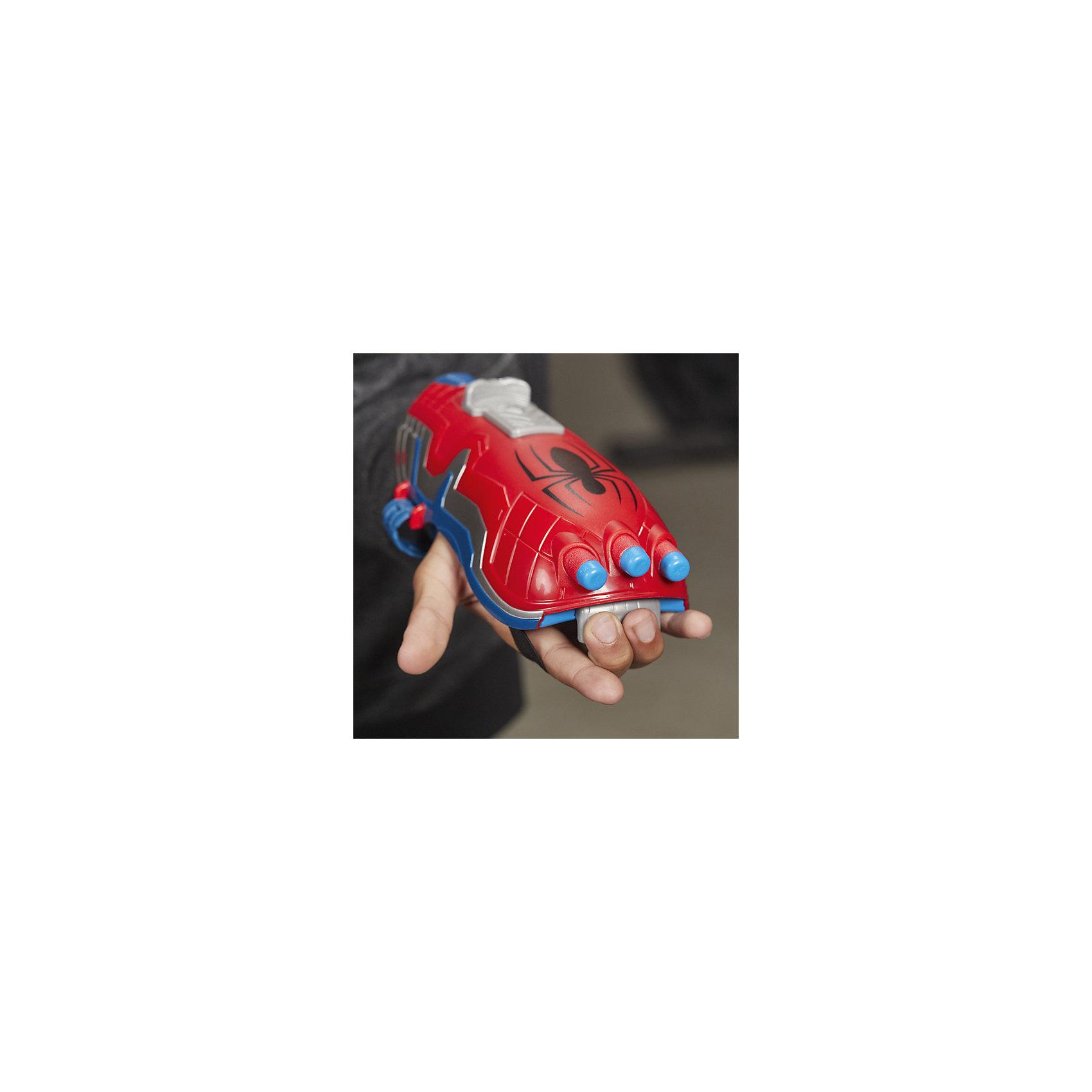 Бластер Человека паука, одевается на руку, Hasbro от myToys