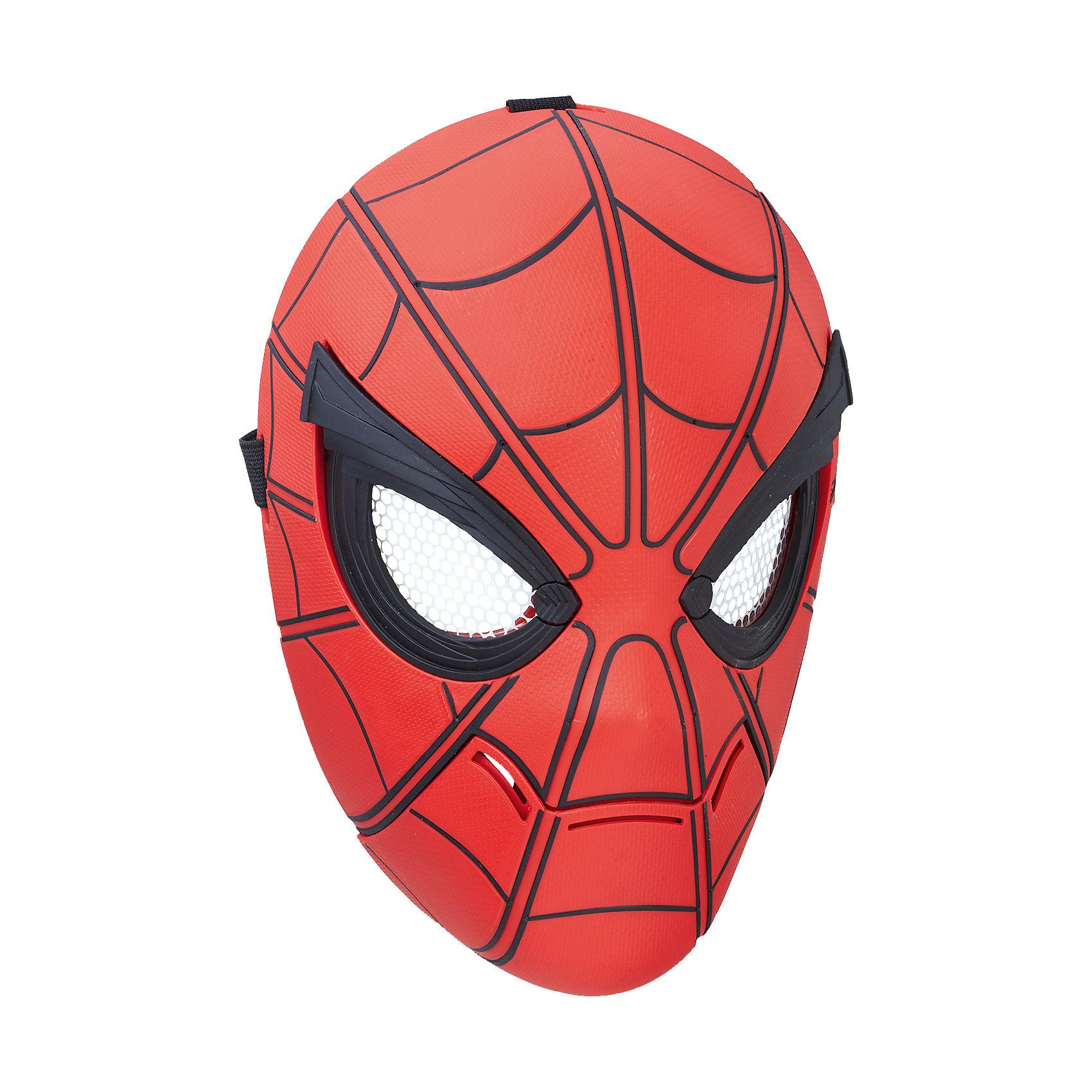 Интерактивная маска Человека-паука, Человек-паук, HasbroИдеи подарков<br><br><br>Ширина мм: 283<br>Глубина мм: 208<br>Высота мм: 116<br>Вес г: 483<br>Возраст от месяцев: 60<br>Возраст до месяцев: 120<br>Пол: Мужской<br>Возраст: Детский<br>SKU: 5104323