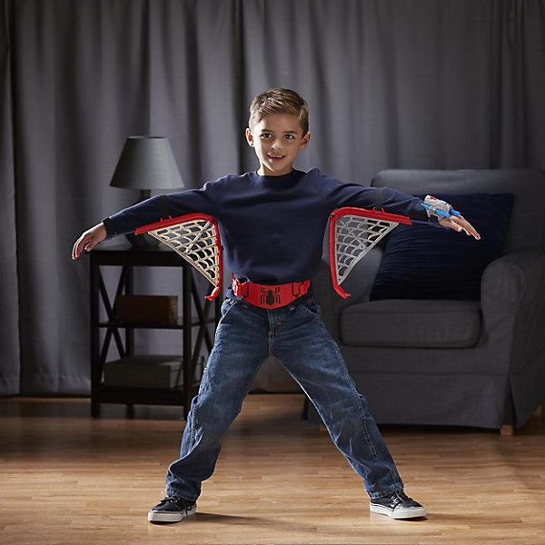 Игровой набор паутинные крылья, Человек-паук, HasbroДругие наборы<br><br>Ширина мм: 510; Глубина мм: 307; Высота мм: 83; Вес г: 846; Возраст от месяцев: 60; Возраст до месяцев: 120; Пол: Мужской; Возраст: Детский; SKU: 5104324;