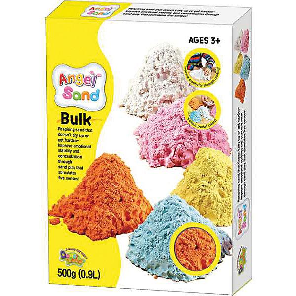 Набор для творчества Angel Sand 0,9 л (оранжевая)Кинетический песок<br>Набор для творчества Angel Sand 0,9 л (оранжевый).<br><br>Характеристики:<br><br>• Состав: минеральный песок, глицерин, полимеры, антибактериальные добавки.<br>• Размер упаковки: 22 х 16 х 3 см<br>• В упаковке:<br>- Песок оранжевый - 0.9 л.<br>- Формочки «Крепость» 2 шт.<br><br>Аngel Sand (Анжел Санд) - это воздушно-легкий песок нового поколения для веселых игр и творчества. Песок Angel Sand обладает следующими свойствами: легко формуется, не прилипает к рукам, не сохнет, не затвердевает, легко отряхивается, не оставляет грязи, смывается водой, антибактериальный. Во время игры увеличивается в объеме в 1,5-2 раза. Не содержит отдушек. Изготовлен из натуральных компонентов с добавлением 3% увлажняющего масла. Песок водорастворимый, поэтому легко смывается при уборке, а в случае проглатывания просто выводится из организма с помощью воды. Безопасен и нетоксичен. <br><br>Набор для творчества Angel Sand 0,9 л (оранжевый) можно купить в нашем интернет – магазине.<br><br>Ширина мм: 140<br>Глубина мм: 200<br>Высота мм: 60<br>Вес г: 900<br>Возраст от месяцев: 36<br>Возраст до месяцев: 2147483647<br>Пол: Унисекс<br>Возраст: Детский<br>SKU: 5104614