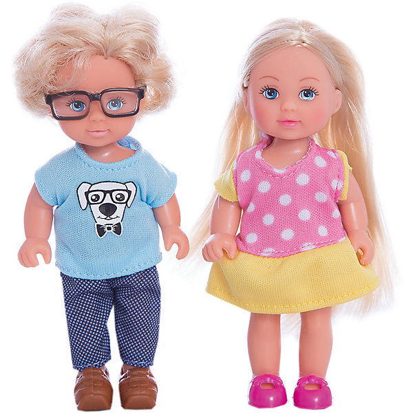 Кукла Еви и Тимми, SimbaКуклы<br>Характеристики товара:<br><br>- цвет: разноцветный;<br>- материал: пластик;<br>- возраст: от трех лет;<br>- комплектация: 2 куклы, аксессуары;<br>- высота куклы: 12 см.<br><br>Эта симпатичная кукла Еви от известного бренда не оставит девочку равнодушной! Какая девочка сможет отказаться поиграть с куклой, которая дополнена лучшим другом Тимми?! В набор входят аксессуары для игр с куклой. Игрушка очень качественно выполнена, поэтому она станет замечательным подарком ребенку. <br>Продается набор в красивой удобной упаковке. Изделие произведено из высококачественного материала, безопасного для детей.<br><br>Куклу Еви и Тимми от бренда Simba можно купить в нашем интернет-магазине.<br>Ширина мм: 121; Глубина мм: 164; Высота мм: 45; Вес г: 111; Возраст от месяцев: 36; Возраст до месяцев: 168; Пол: Женский; Возраст: Детский; SKU: 5104807;