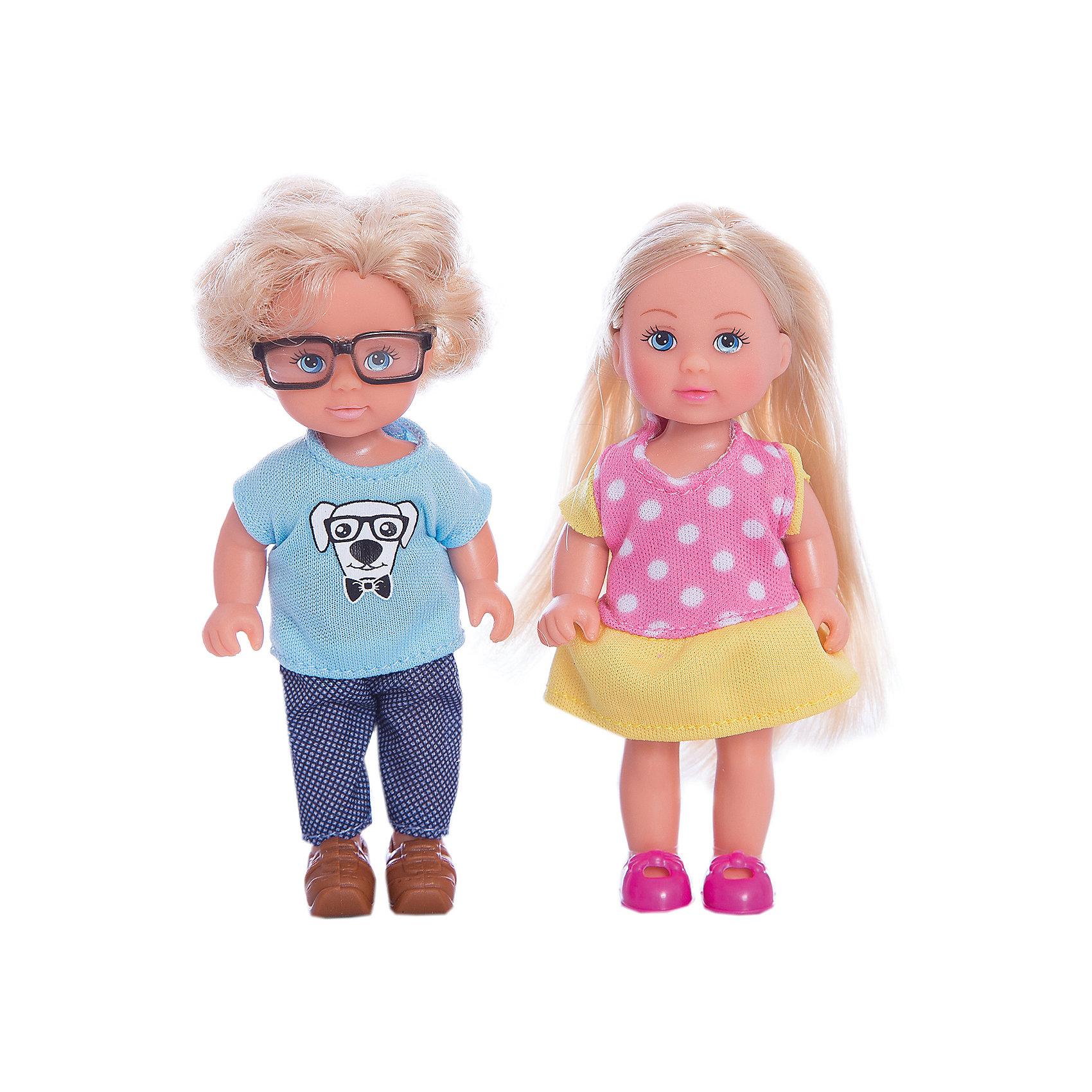 Кукла Еви и Тимми, SimbaМини-куклы<br>Характеристики товара:<br><br>- цвет: разноцветный;<br>- материал: пластик;<br>- возраст: от трех лет;<br>- комплектация: 2 куклы, аксессуары;<br>- высота куклы: 12 см.<br><br>Эта симпатичная кукла Еви от известного бренда не оставит девочку равнодушной! Какая девочка сможет отказаться поиграть с куклой, которая дополнена лучшим другом Тимми?! В набор входят аксессуары для игр с куклой. Игрушка очень качественно выполнена, поэтому она станет замечательным подарком ребенку. <br>Продается набор в красивой удобной упаковке. Изделие произведено из высококачественного материала, безопасного для детей.<br><br>Куклу Еви и Тимми от бренда Simba можно купить в нашем интернет-магазине.<br><br>Ширина мм: 121<br>Глубина мм: 164<br>Высота мм: 45<br>Вес г: 111<br>Возраст от месяцев: 36<br>Возраст до месяцев: 168<br>Пол: Женский<br>Возраст: Детский<br>SKU: 5104807