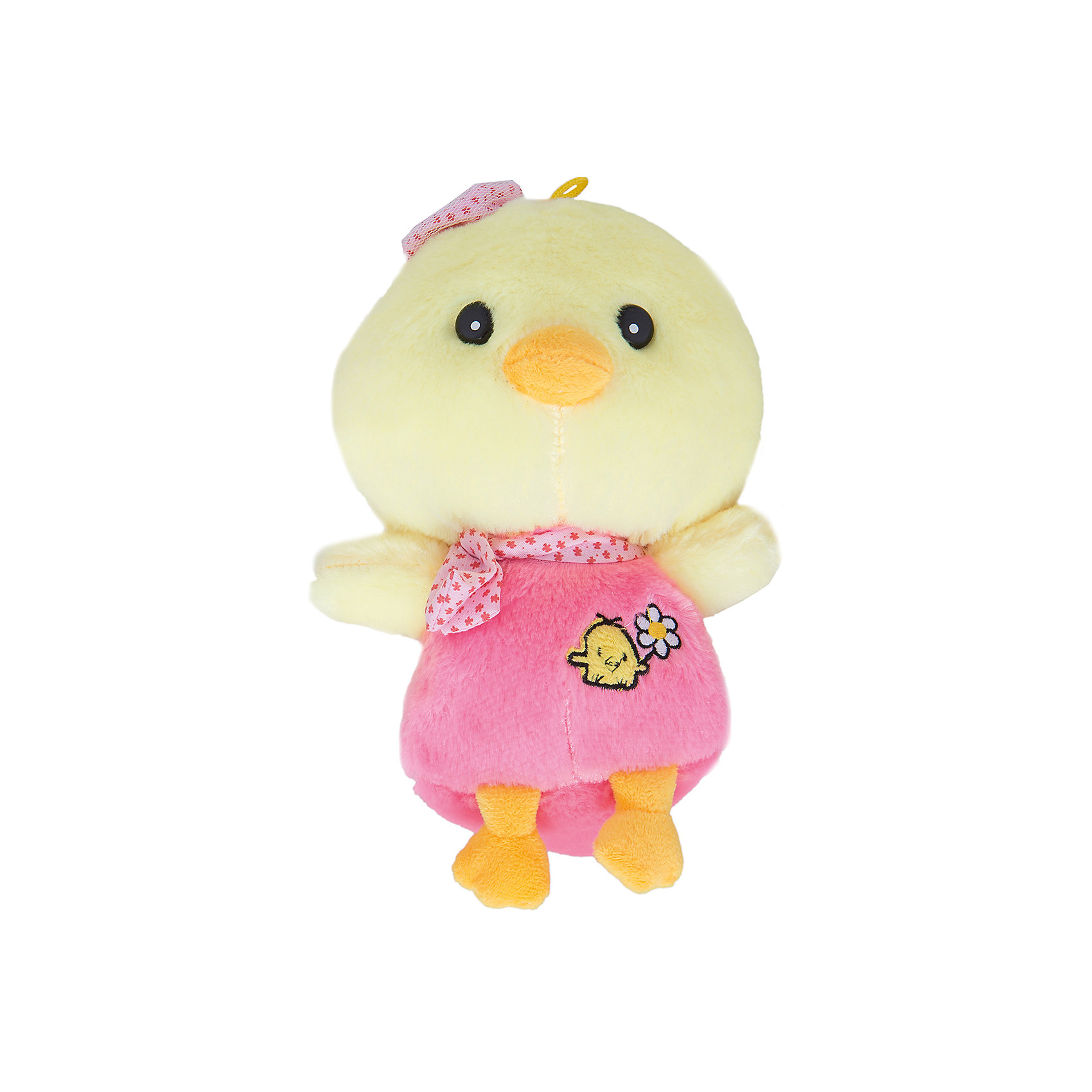 - Мягкая игрушка Цыпленок Вася 20 см , ПУФФИ пуффи сув обезьянка с сердцем