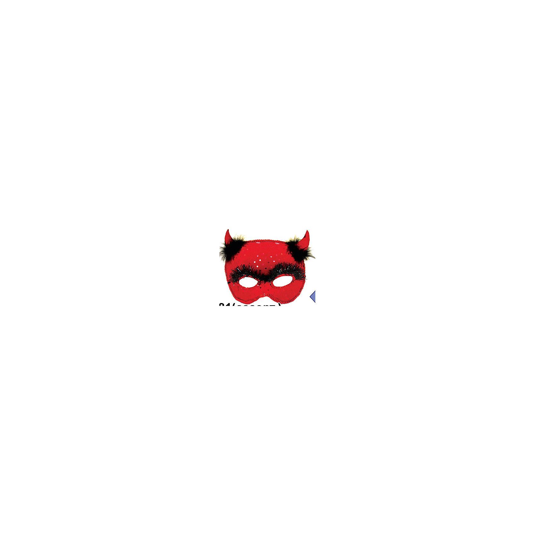Карнавальная маска Сатир, разл.цвета, MARKO FERENZOХарактеристики карнавальной маски Сатир, Marko Ferenzo:<br><br>- возраст: от 3 лет<br>- пол: для мальчиков и девочек<br>- цвет: красный / черный / фиолетовый.<br>- материал: текстиль, пластик.<br>- размер игрушки: 15 * 9 см.<br>- упаковка: пакет.<br><br>Карнавальная маска Сатир торговой марки Marko Ferenzo станет отличным аксессуаром для тематической вечеринки. Если Вы, к примеру, желаете стать участником праздника, посвященному греческой мифологии или Хэллоуину, маска станет вашей палочкой-выручалочкой. Она выполнена в ярких цветах смеховыми вставками и украшена рожками для более глубоко перевоплощения в роль. Надев маску Сатир, можно запросто стать звездой вечера.<br><br>Карнавальную маску Сатир торговой  марки  Marko Ferenzo можно купить в нашем интернет-магазине.<br><br>Ширина мм: 180<br>Глубина мм: 80<br>Высота мм: 150<br>Вес г: 2<br>Возраст от месяцев: 36<br>Возраст до месяцев: 192<br>Пол: Унисекс<br>Возраст: Детский<br>SKU: 5105644